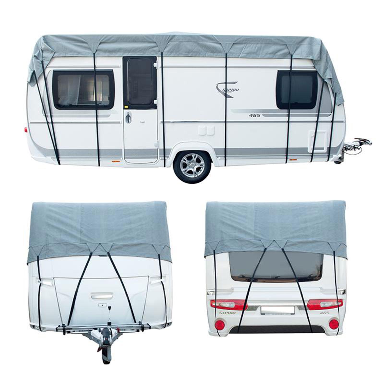 wohnwagen wohnmobil schutzdach 5 x 3 meter 3 schichten 160g winter geeignet ebay. Black Bedroom Furniture Sets. Home Design Ideas