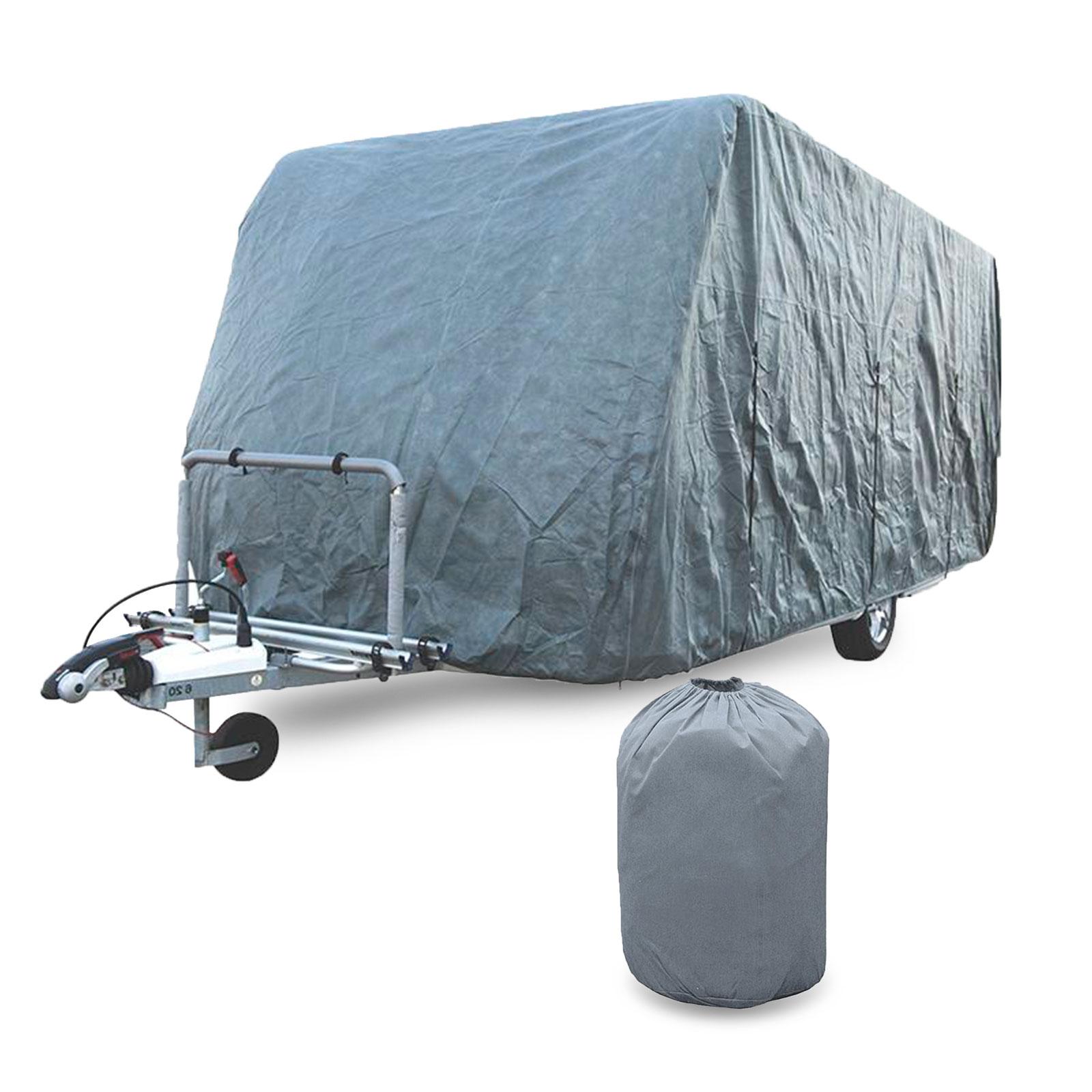 Pro Plus Wohnwagen Schutzhülle 235 x 366 bis 701cm 4 Schicht 160G/ Quadratmeter