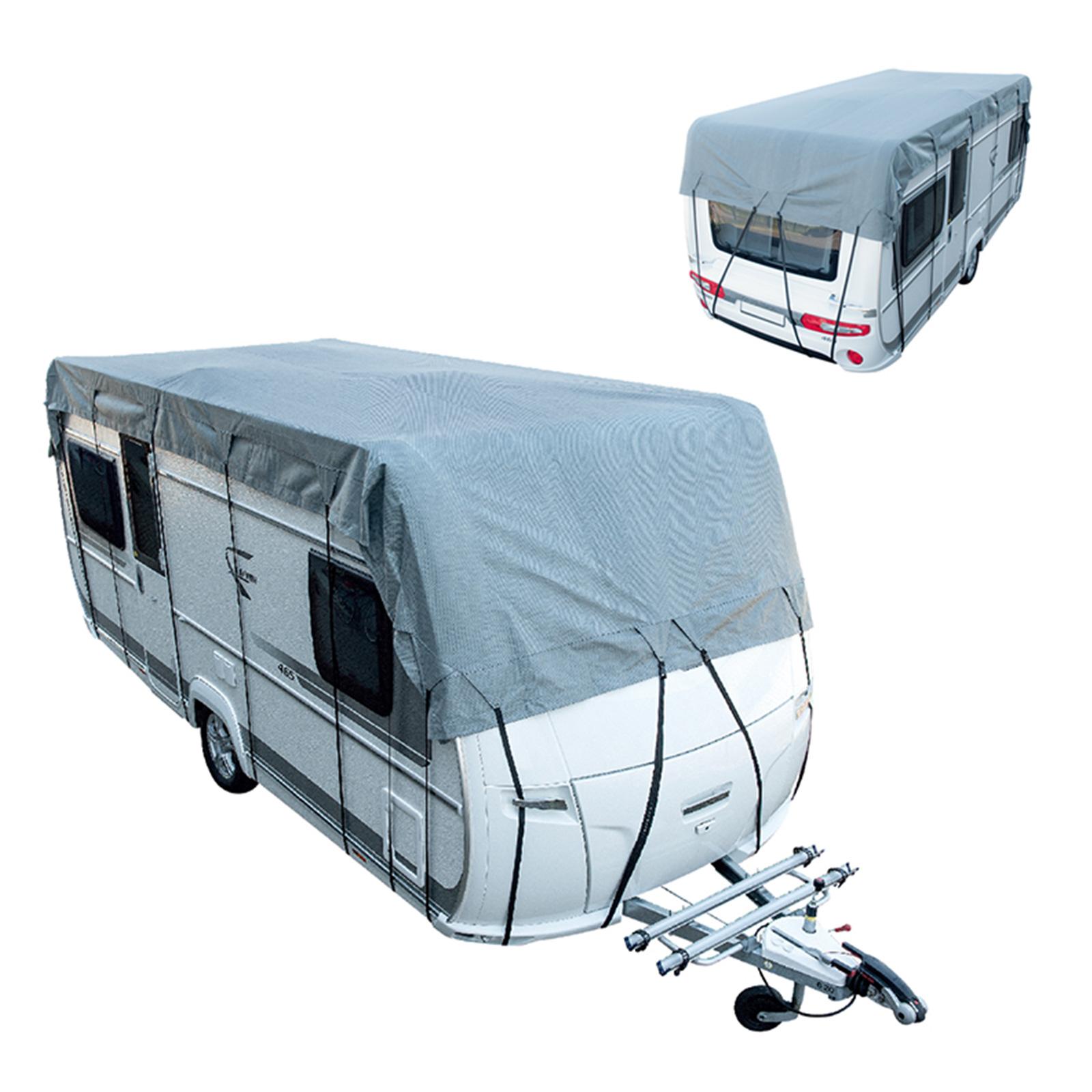 Details zu Wohnwagen Wohnmobil Reisemobil Schutzdach Dachschutzplane  Schutzhülle 10x10 m