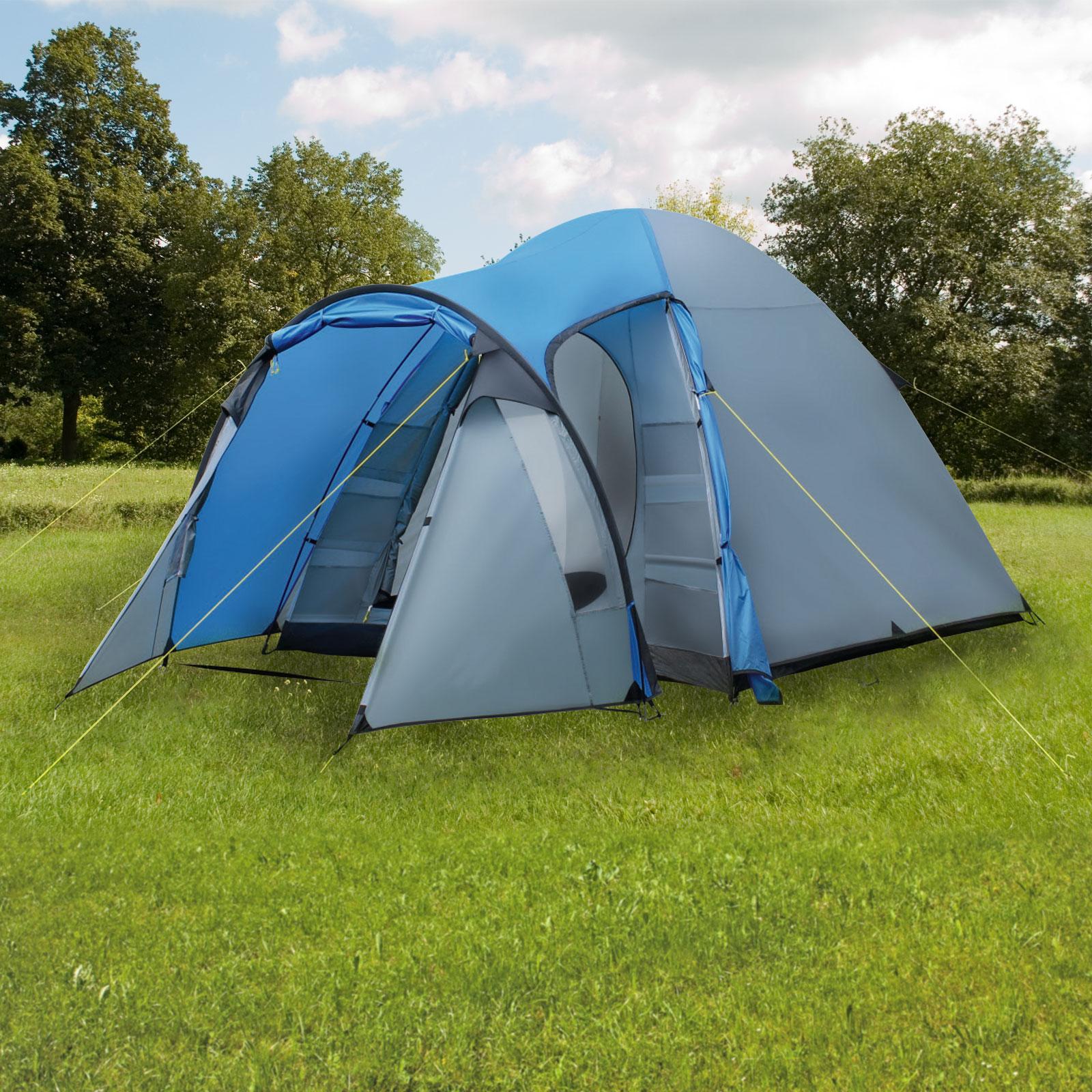 5 Personen Kuppel Zelt Beaver Creek 5 Vorraum Schlafkabine 2 Fenster