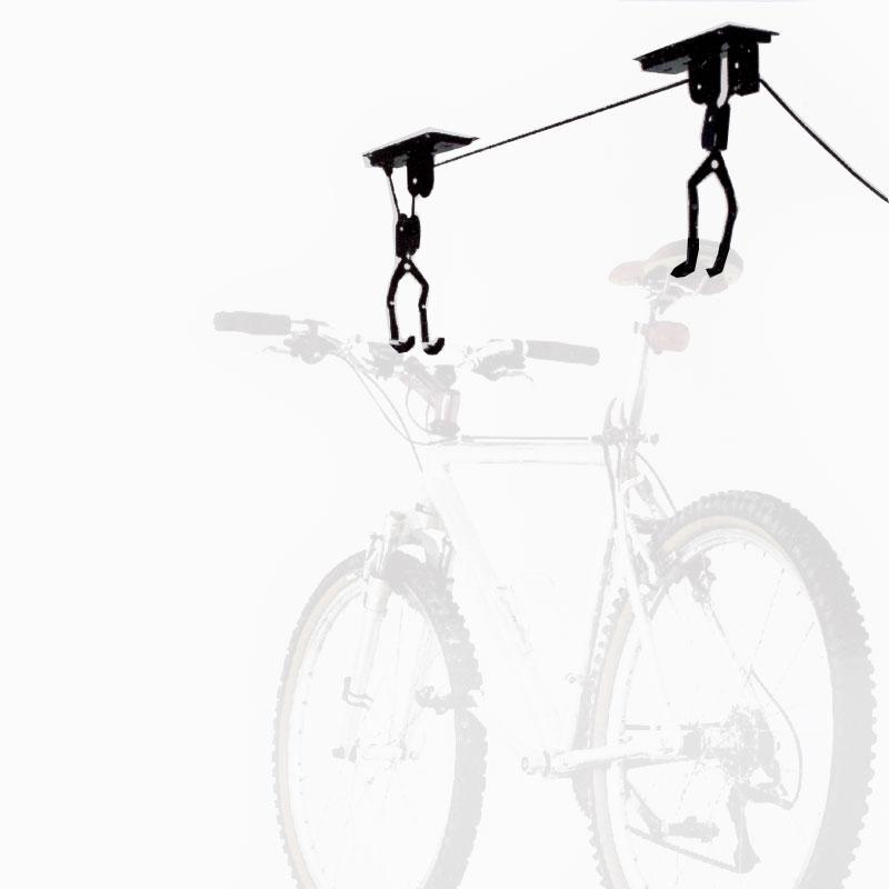 Bicycle Lift Fahrraddeckenlift, Flaschenzug, 20 Kg Tragkraft
