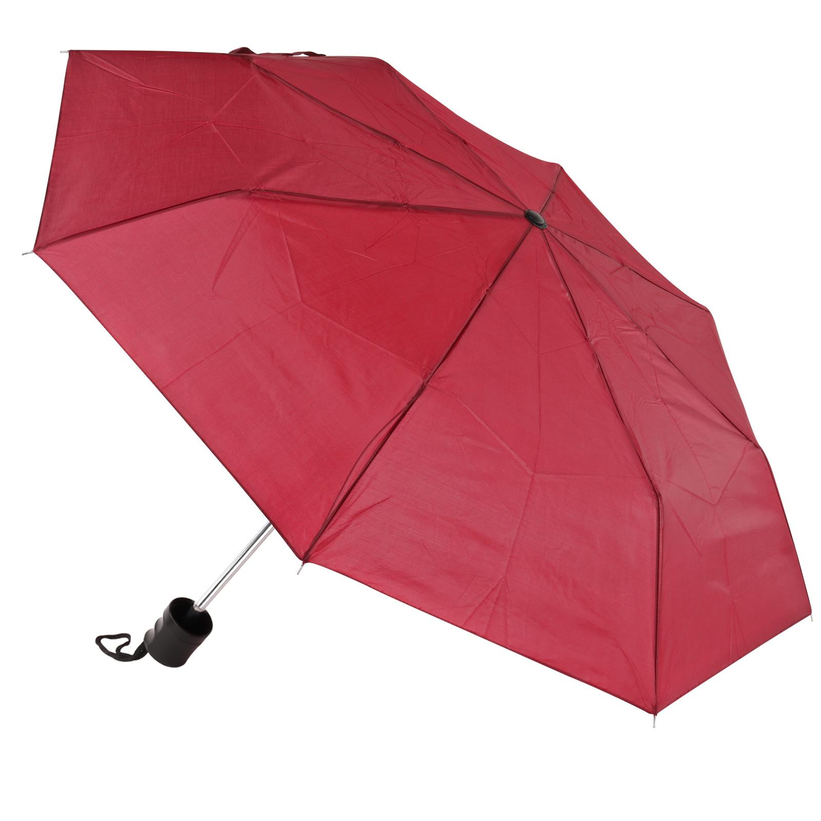 Amrini Regenschirm Mini rot 100cm Spannweite Mini Packmaß 25x5cm