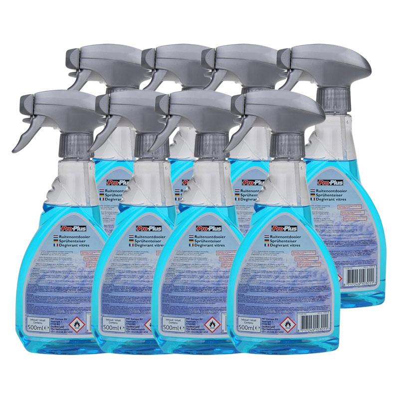ProPlus Scheibenenteiser gebrauchsfertig 8 x 500 ml in Sprühflasche
