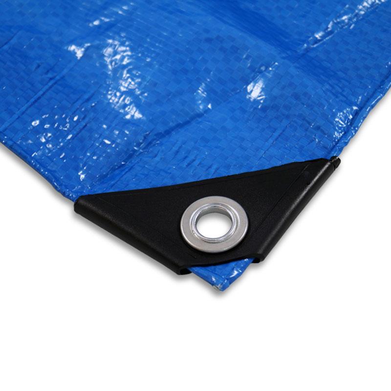 gewebeplane 3x4 m 12 qm uv best ndig polyethylen blau. Black Bedroom Furniture Sets. Home Design Ideas