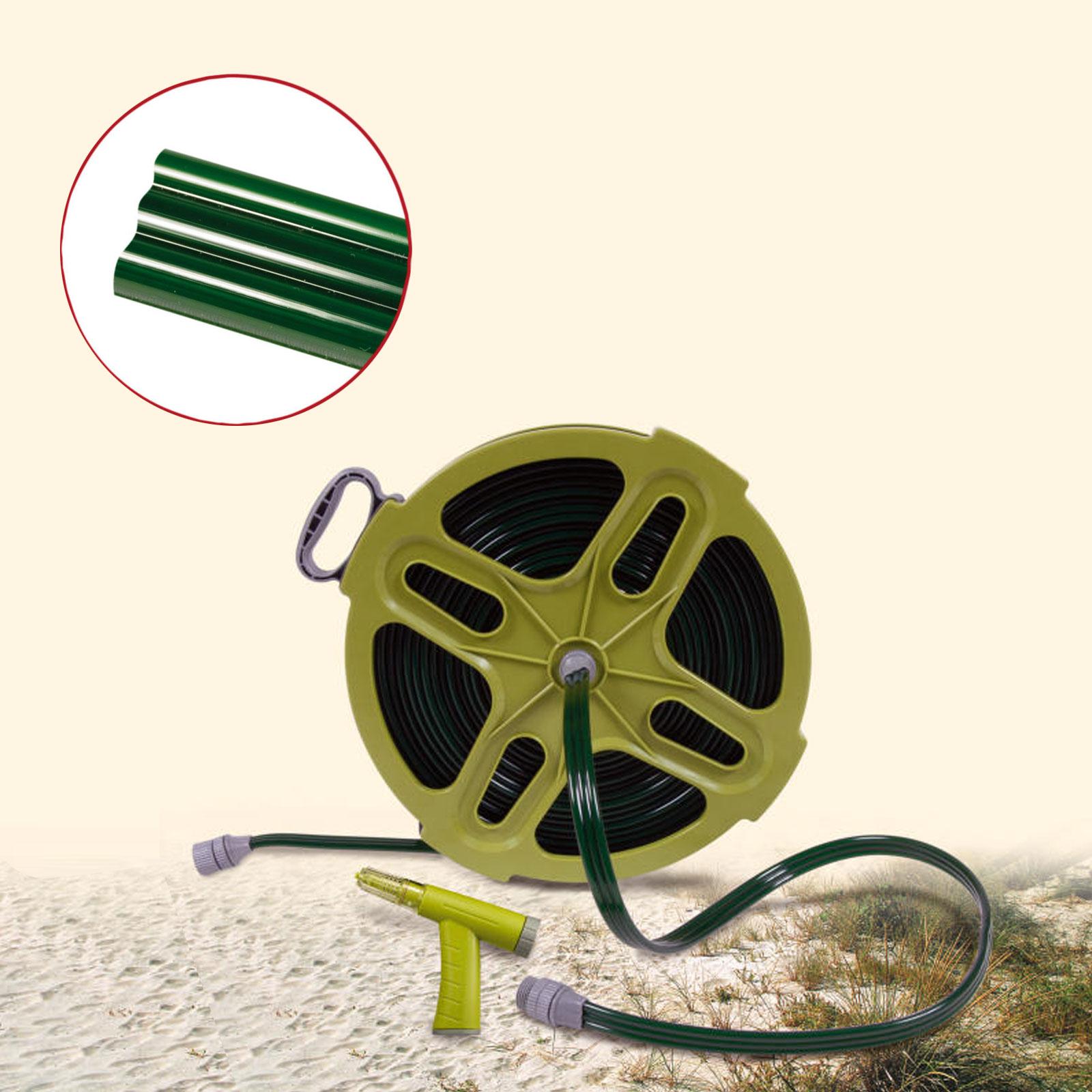 Wasserschlauchtrommel Robby 15 Meter 3 4 Zoll Inkl Handbrause