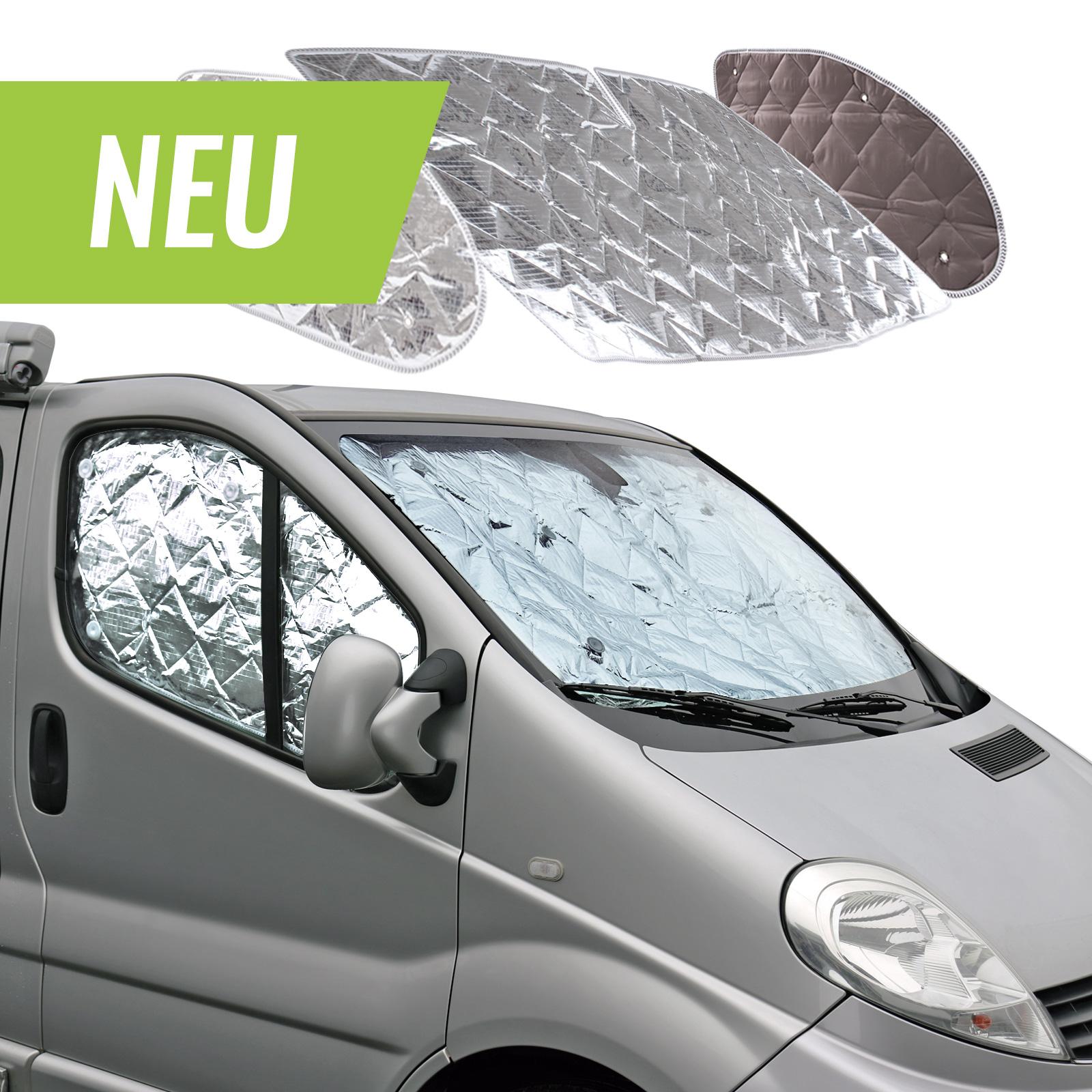 deiwo® | Thermomatte für das Fahrerhaus 3 teilig für Sommer & Winter