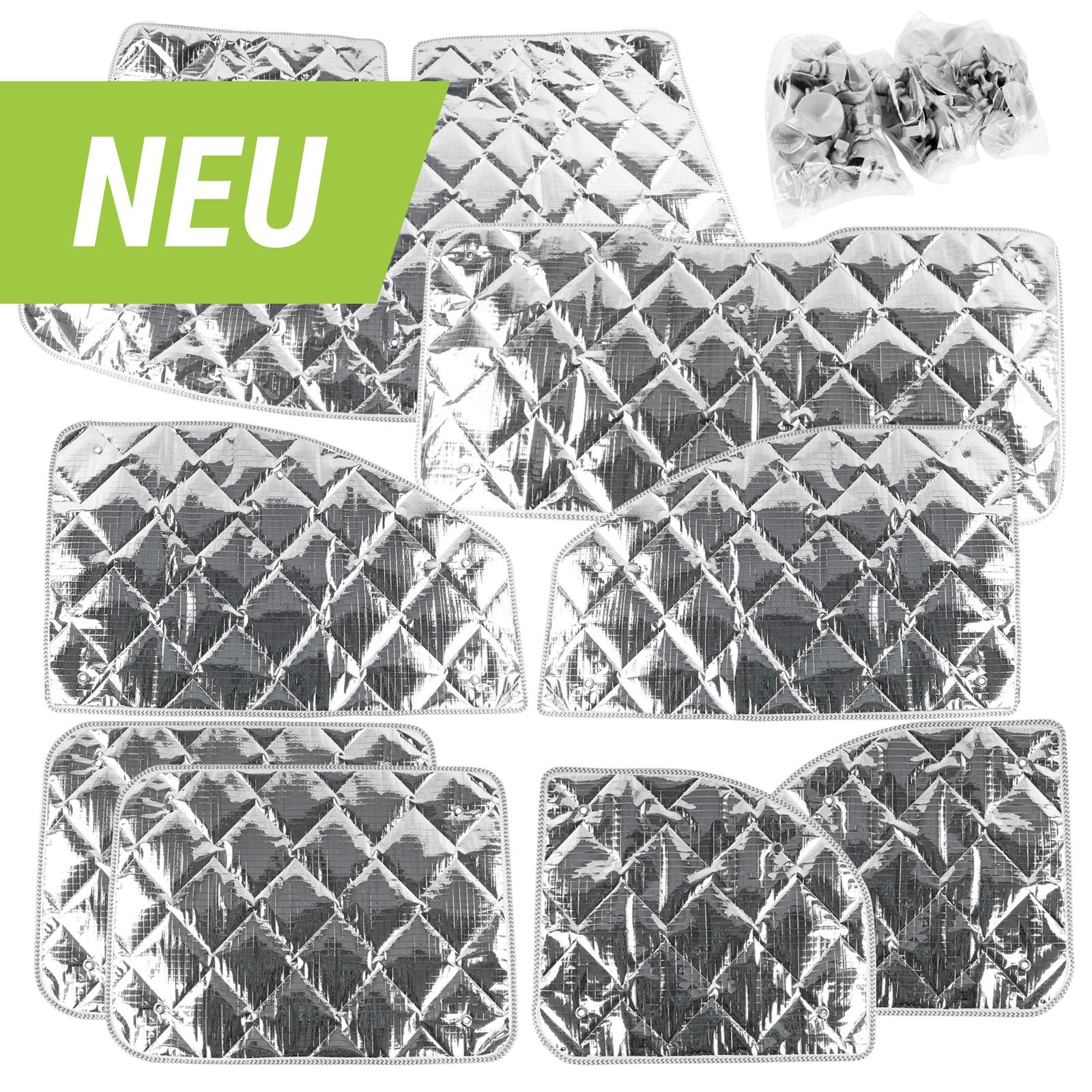 deiwo® Thermomatte komplett Set 8-tlg, 7-lagig verschiedene Modelle