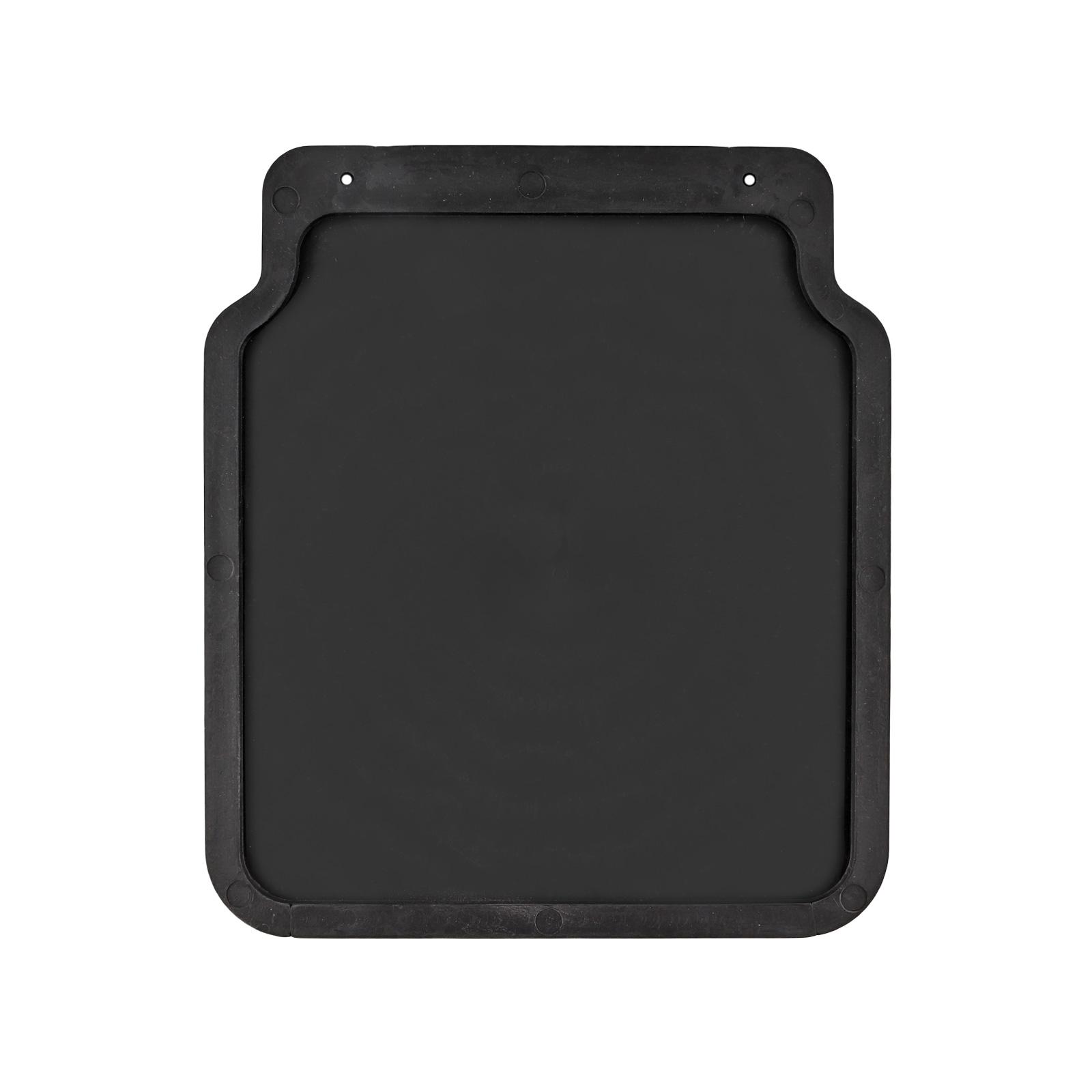 Schmutzfänger Universal Gummi 23x20cm Schwarz Für Anhänger Wohnwagen Pkw Ebay
