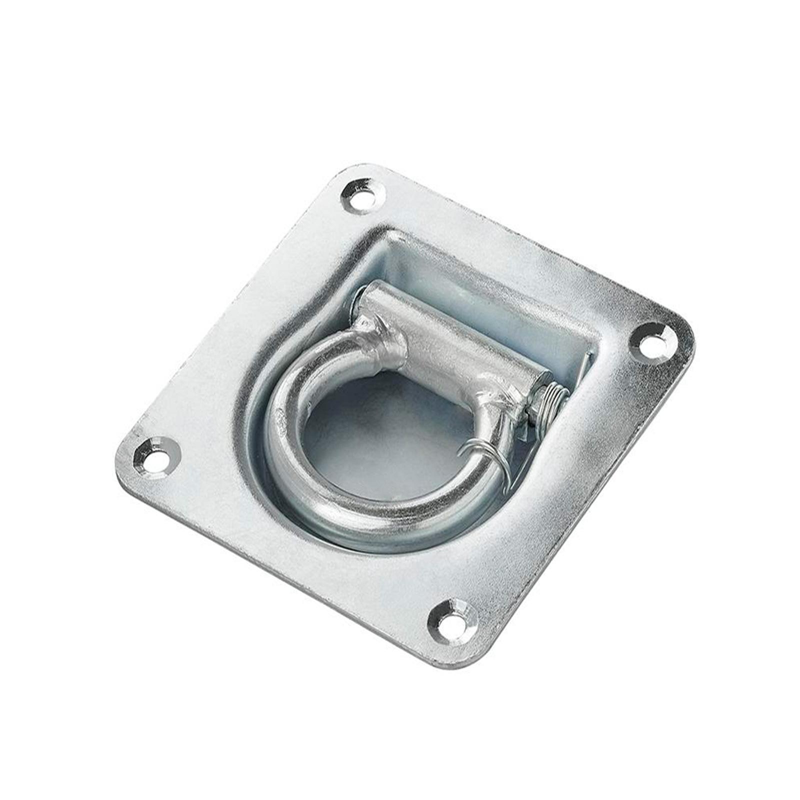 APT® Zurrmulde mit Feder 100mm x 95mm Zugkraft 800Kg verzinkt 60mm Ringöse