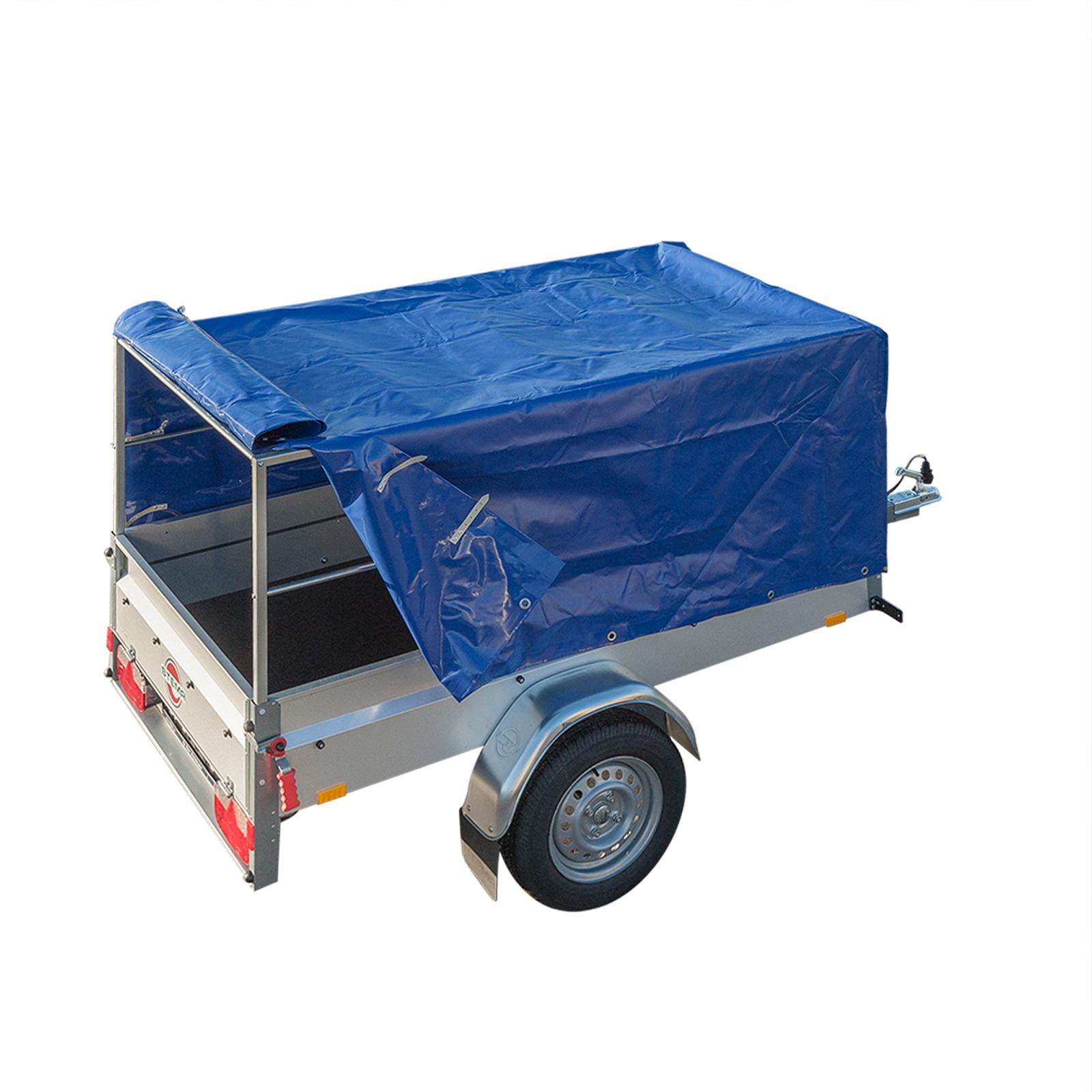 planen gestell hochplane set blau ma e 207 5 x 114 x. Black Bedroom Furniture Sets. Home Design Ideas