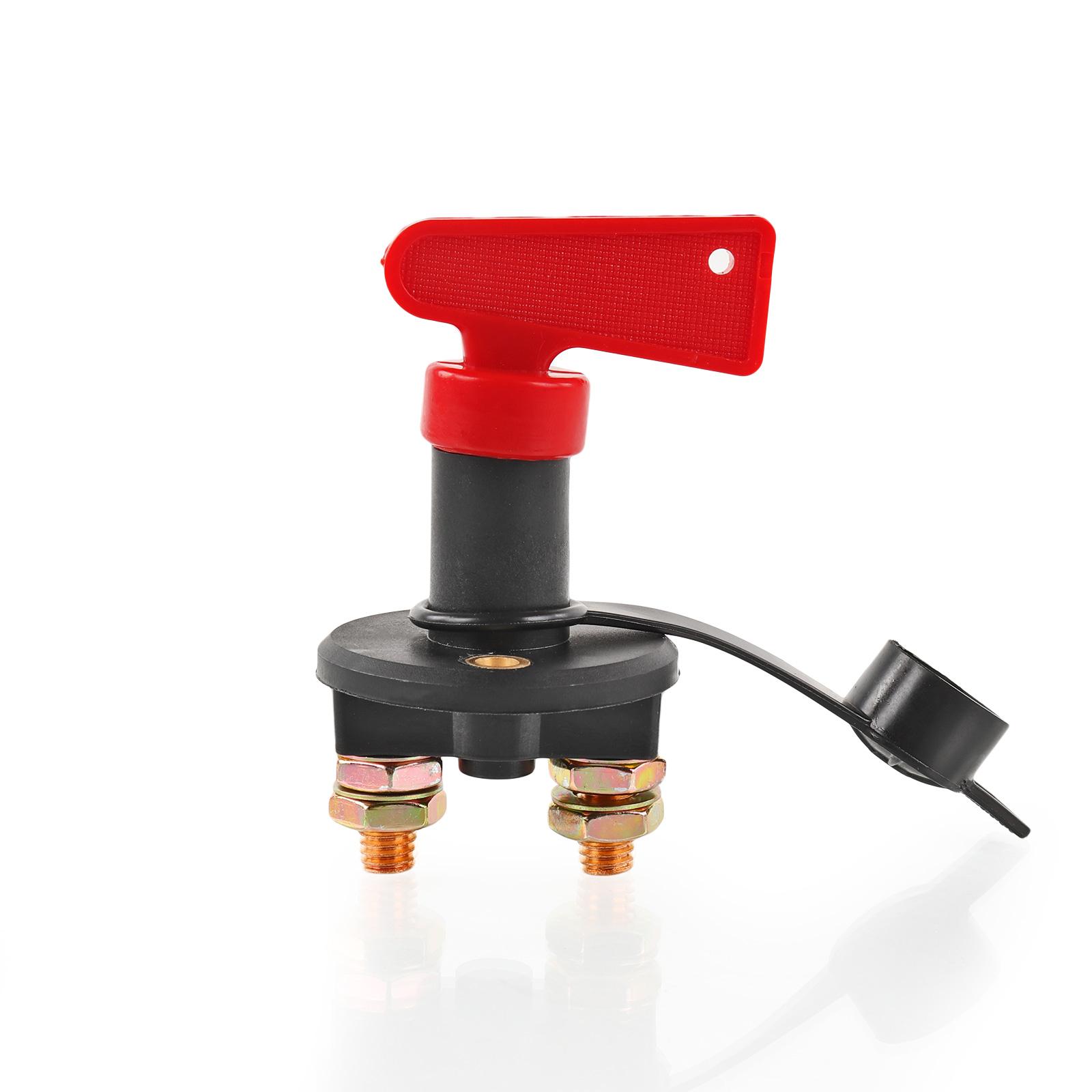Batterie Trennschalter 12-24 Volt 200 Ampere, Schlüsselform, mit Staubkappe