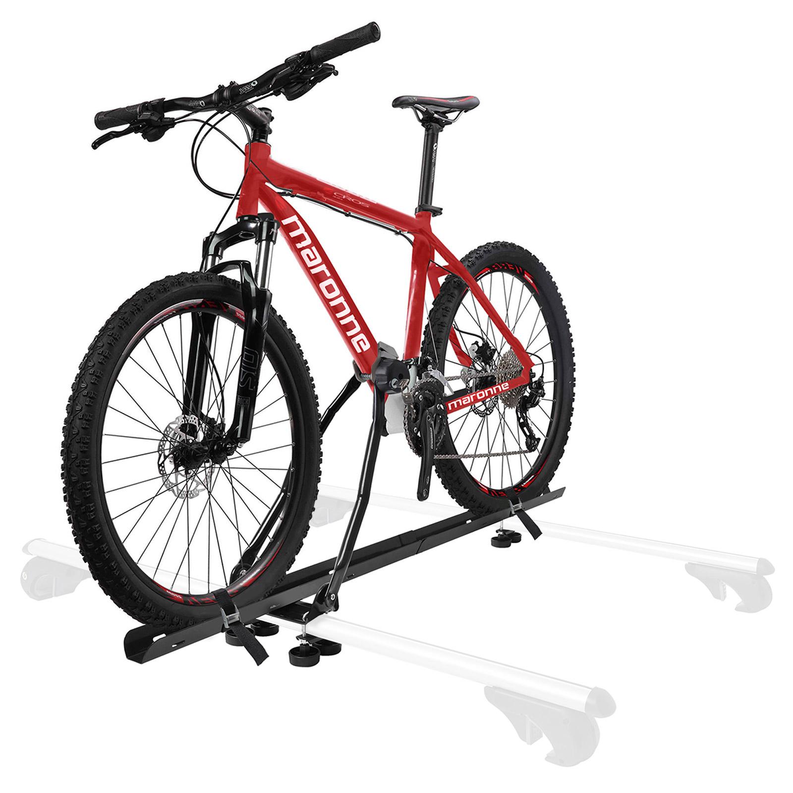 Fahrradträger Dachträger mit Rahmenbefestigung abschließbar inkl Befestigung