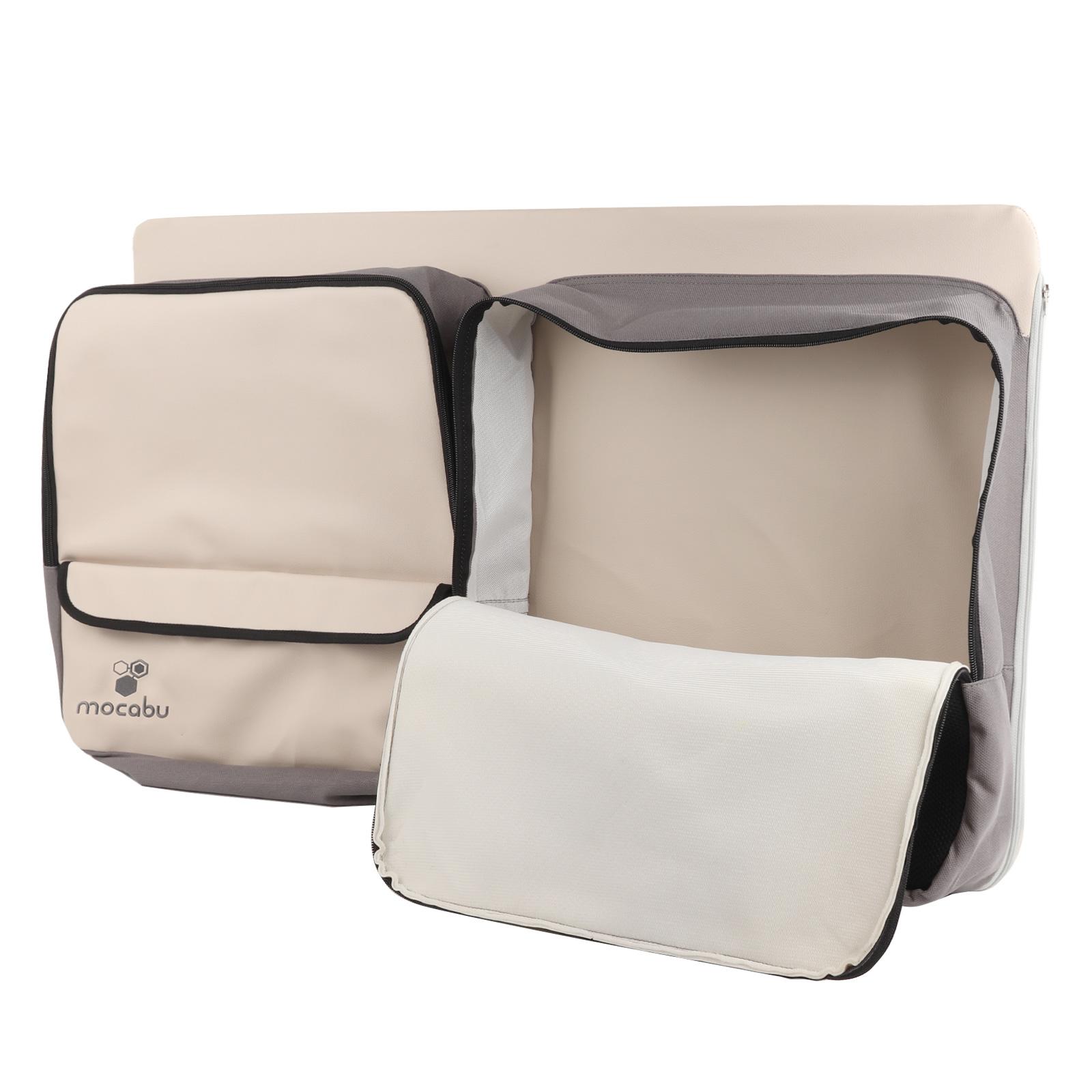 Indexbild 2 -  Fenstertasche Utensilientasche Leinenbeige passend für VW T5 T6 KR links