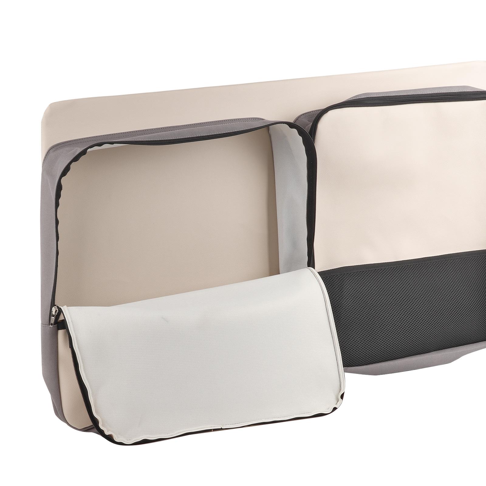Indexbild 3 -  Fenstertasche Utensilientasche Leinenbeige passend für VW T5 T6 KR links