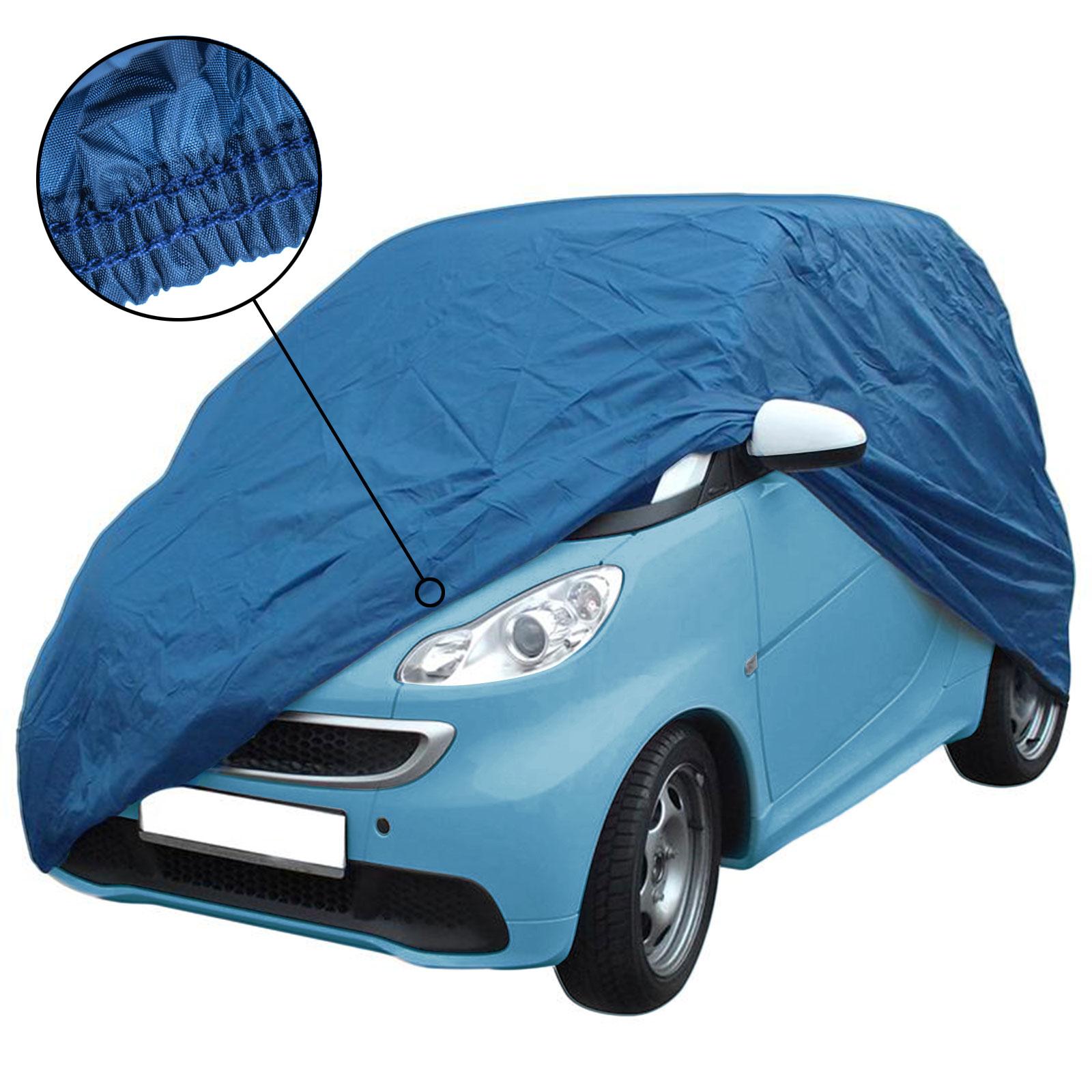 Auto Ganzgarage XS für Kleinstwagen, Nylon, 277x162x136 cm, blau, Gummizug