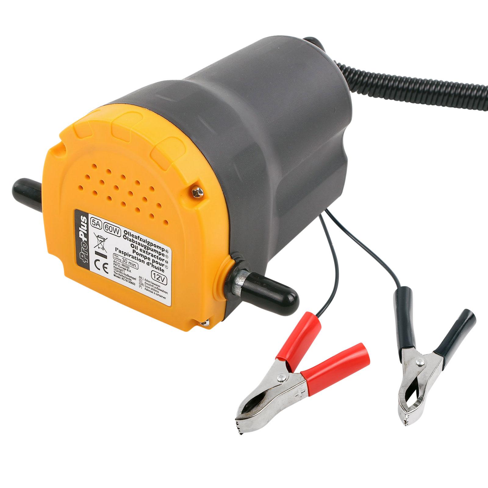 Ölpumpe 12 Volt 60 Watt 5A Messinglamellen 3 Ltr pro Minute Absaugpumpe