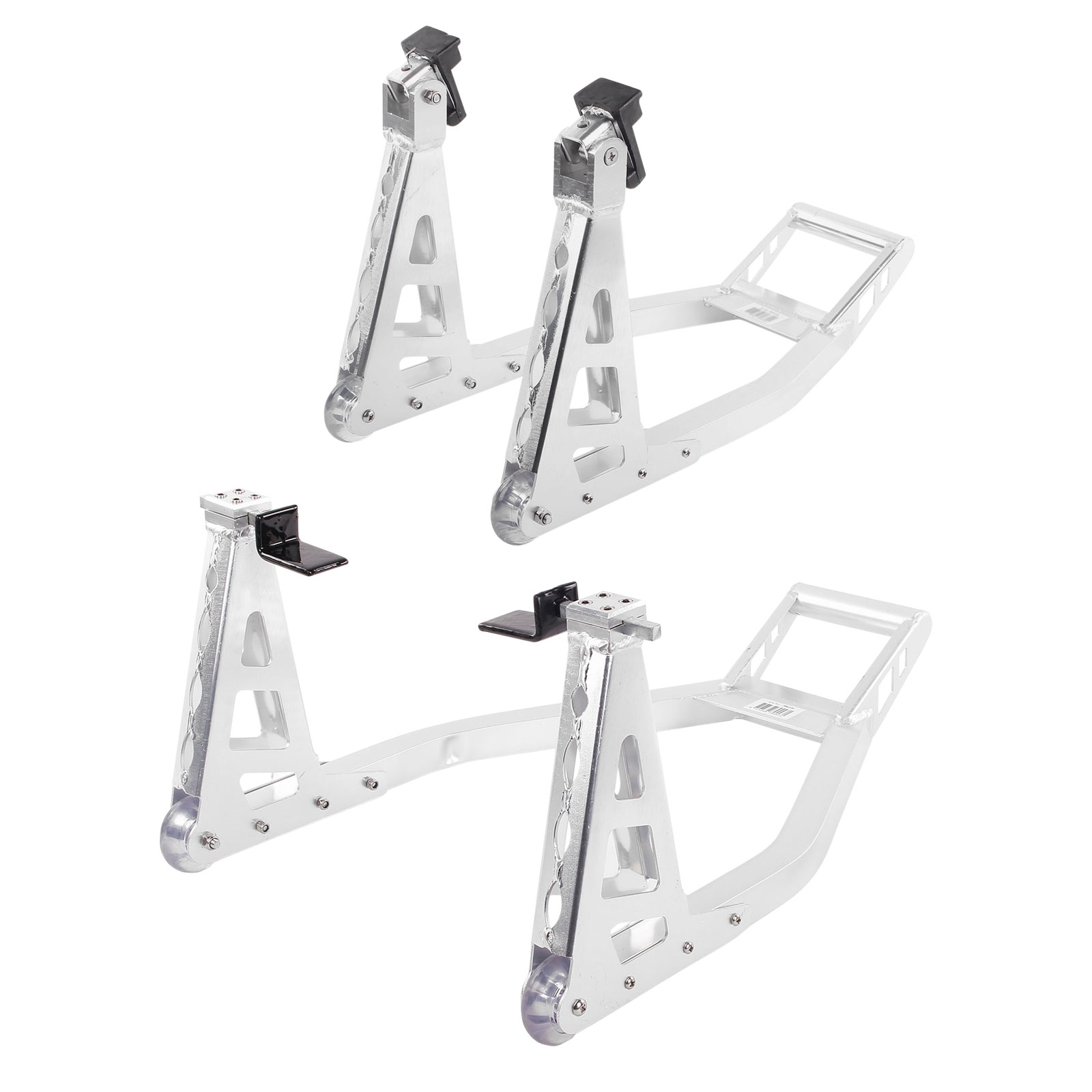 Motorrad Ständer Set Vorne & Hinten Aluminium universell passend 🏍️
