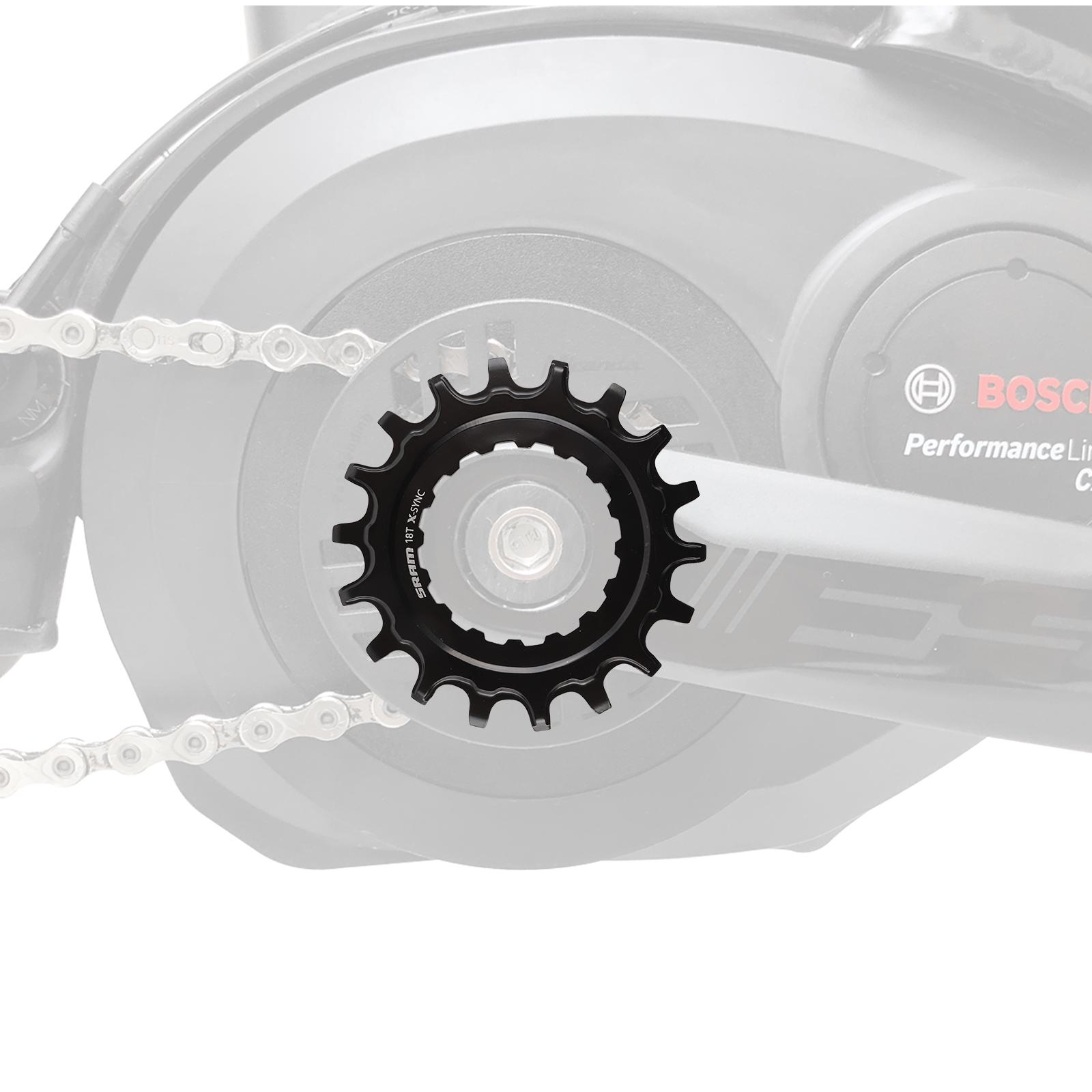 SRAM Kettenblatt 18T EX1 X-Sync™ für Bosch Mittelmotor eBike