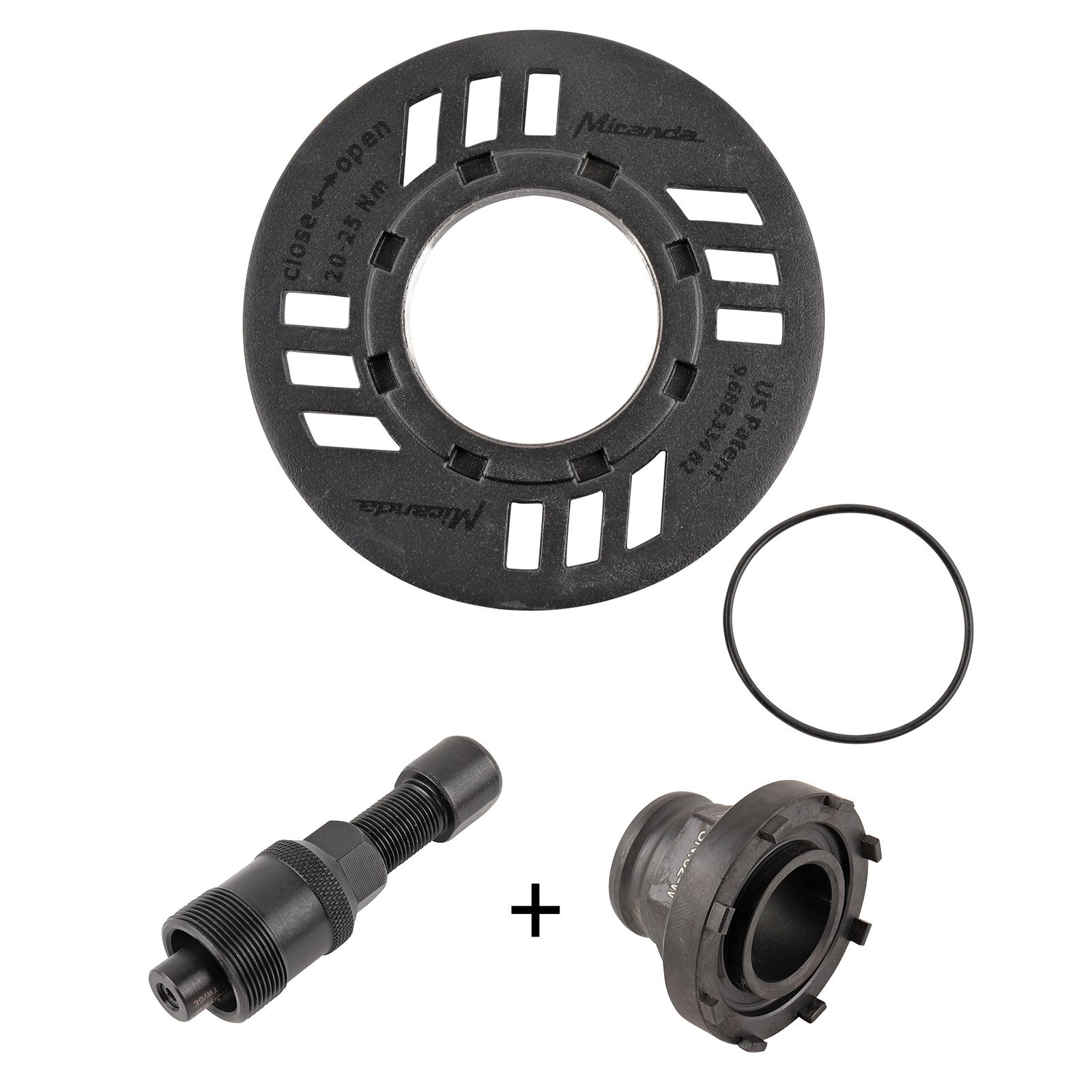 Miranda Kettenschutzring für Bosch Active, Performance, CX inkl. Montagewerkzeug
