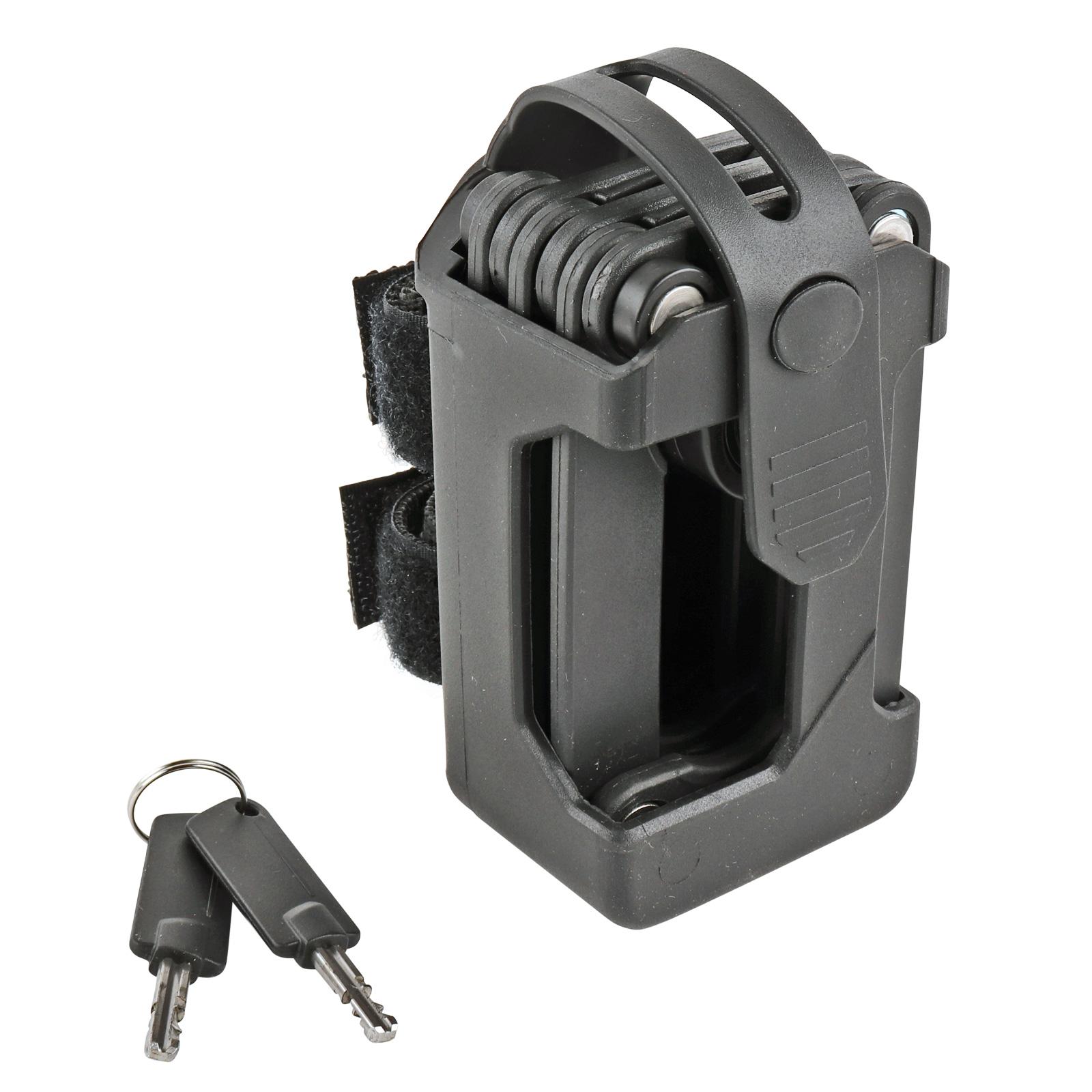 Fahrrad-Faltschloss CONTEC, gehärteter Stahl, Sicherheitsstufe 7
