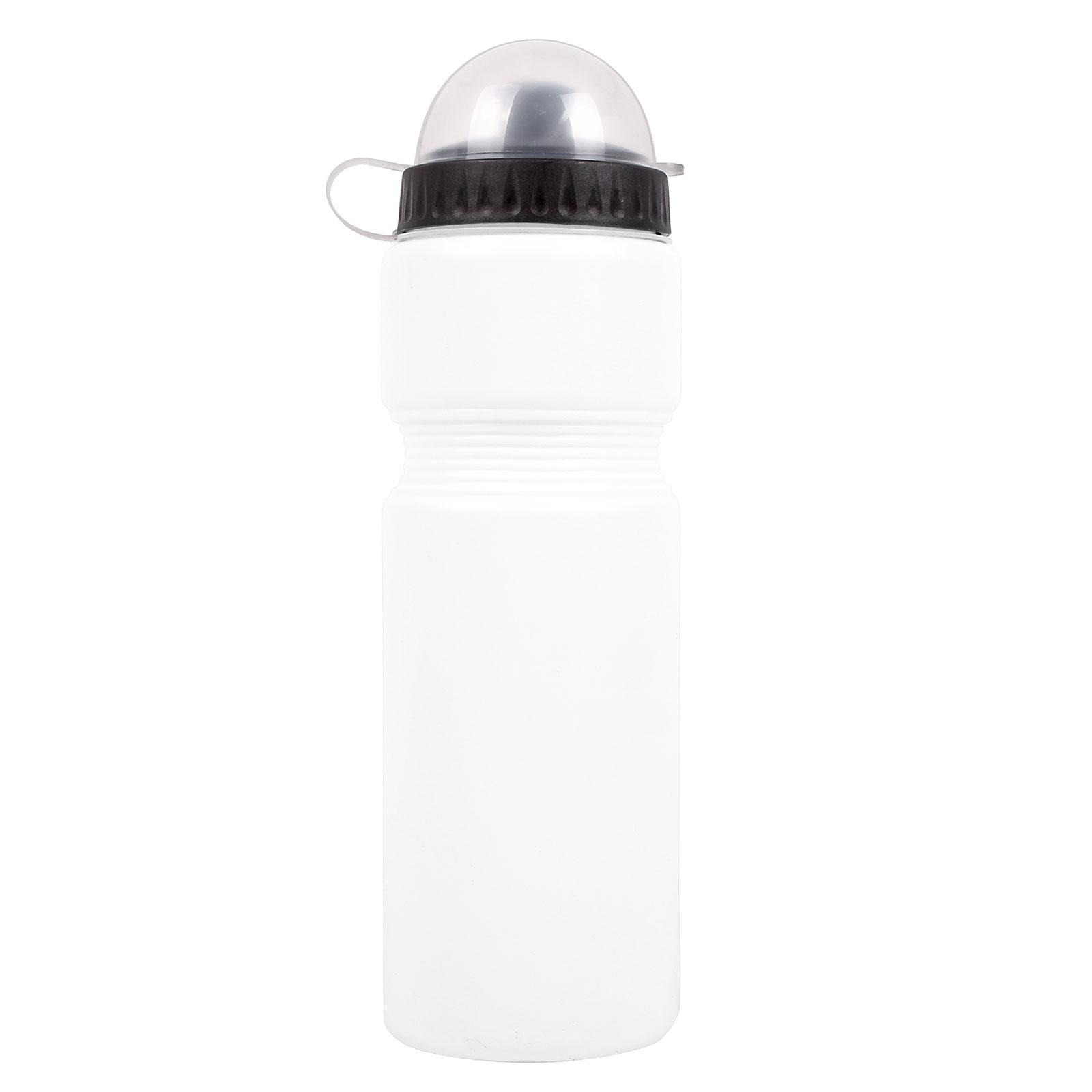 Bicycle Gear Trinkflasche 750 ml Kunststoff weiß