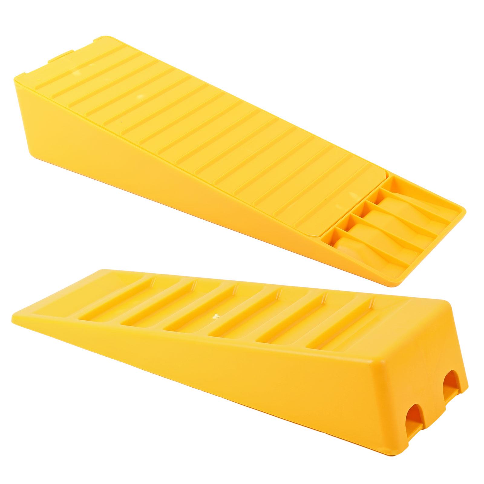 Wohnmobil Ausgleichskeile Leveller Standard 2er Set gelb