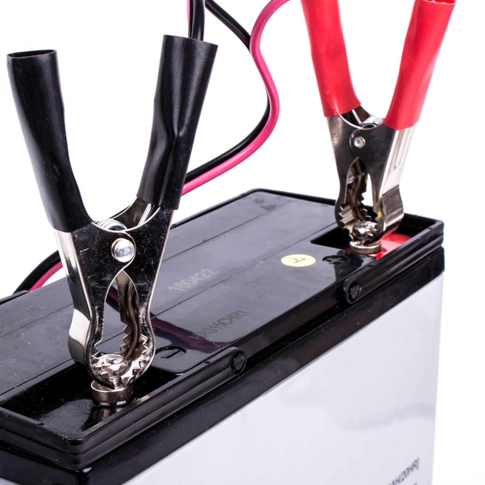 dunlop batterieladeger t 6 12 volt f r blei s ure und gel. Black Bedroom Furniture Sets. Home Design Ideas