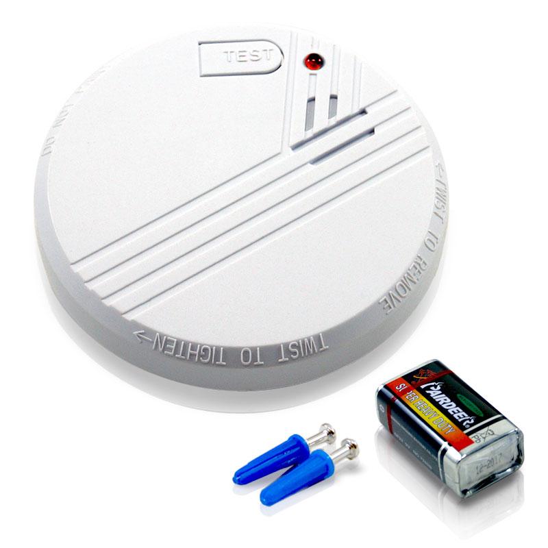 Camping Rauchmelder Smartwares inkl. 9V Batterie