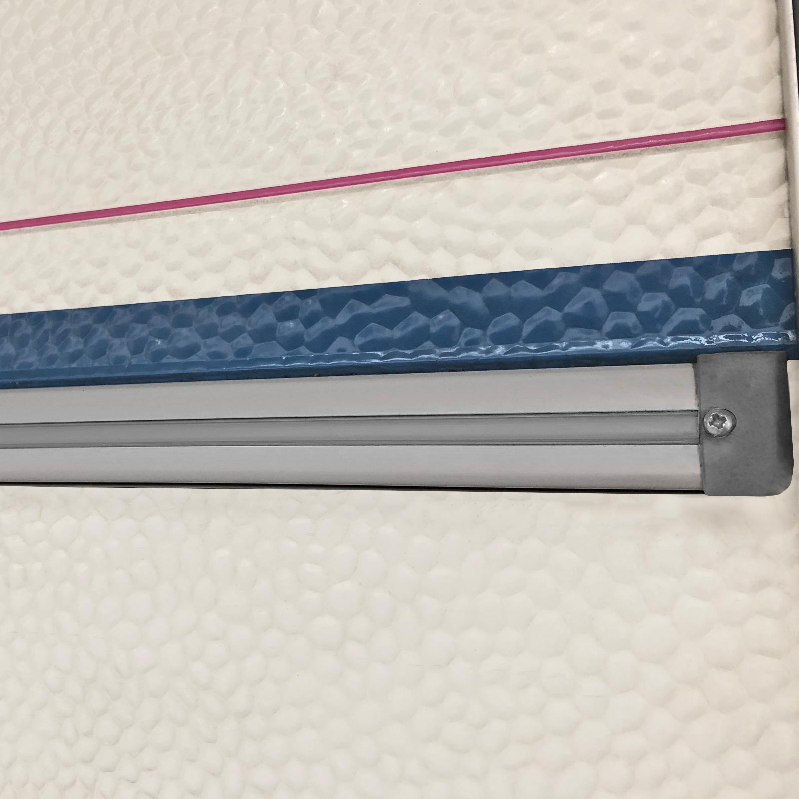 60 Meter (6x10 m) Kederband 12 mm silber Kunststoff Leistenfüller