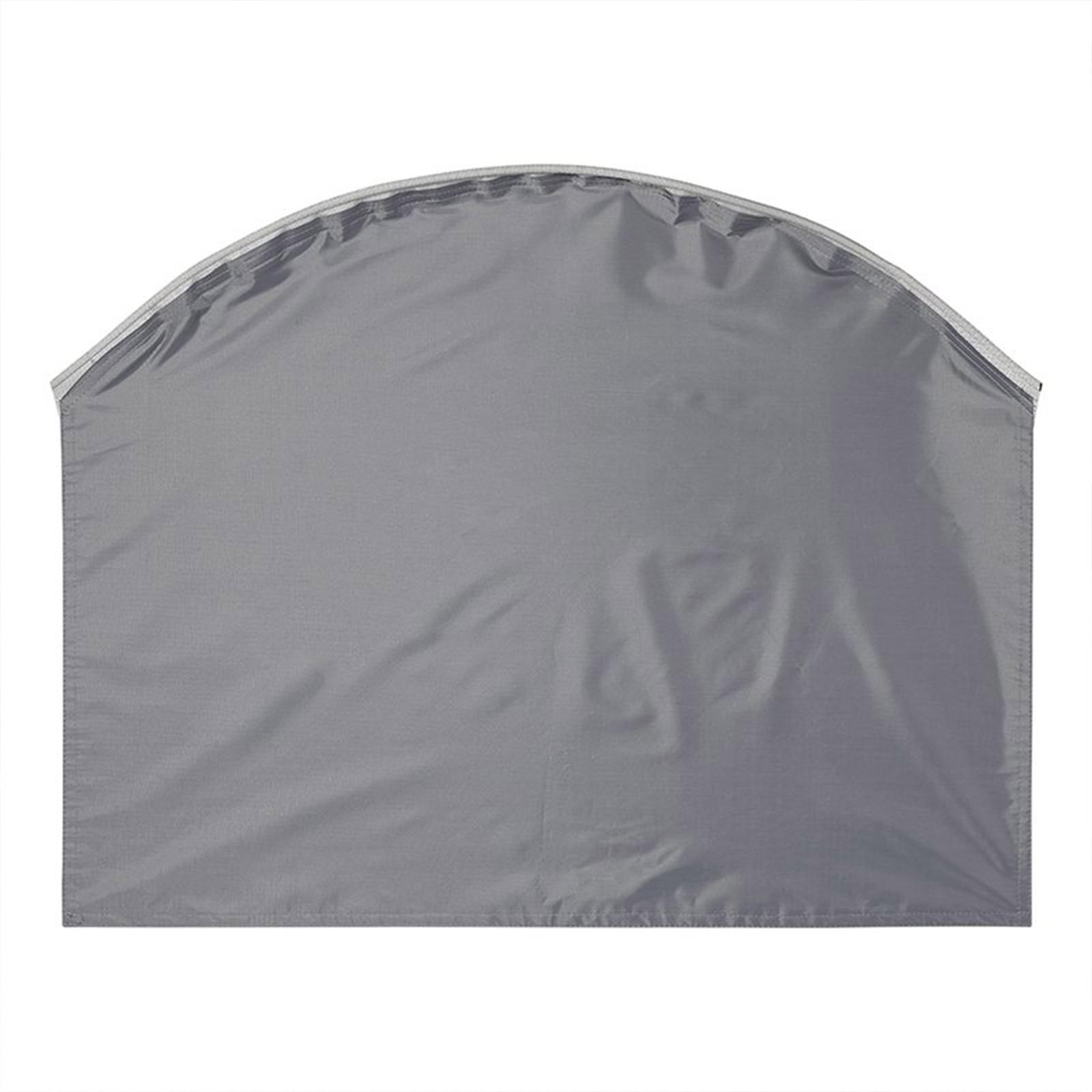 Wohnwagen Radabdeckung mit Keder grau UV Schutz Polyestergewebe