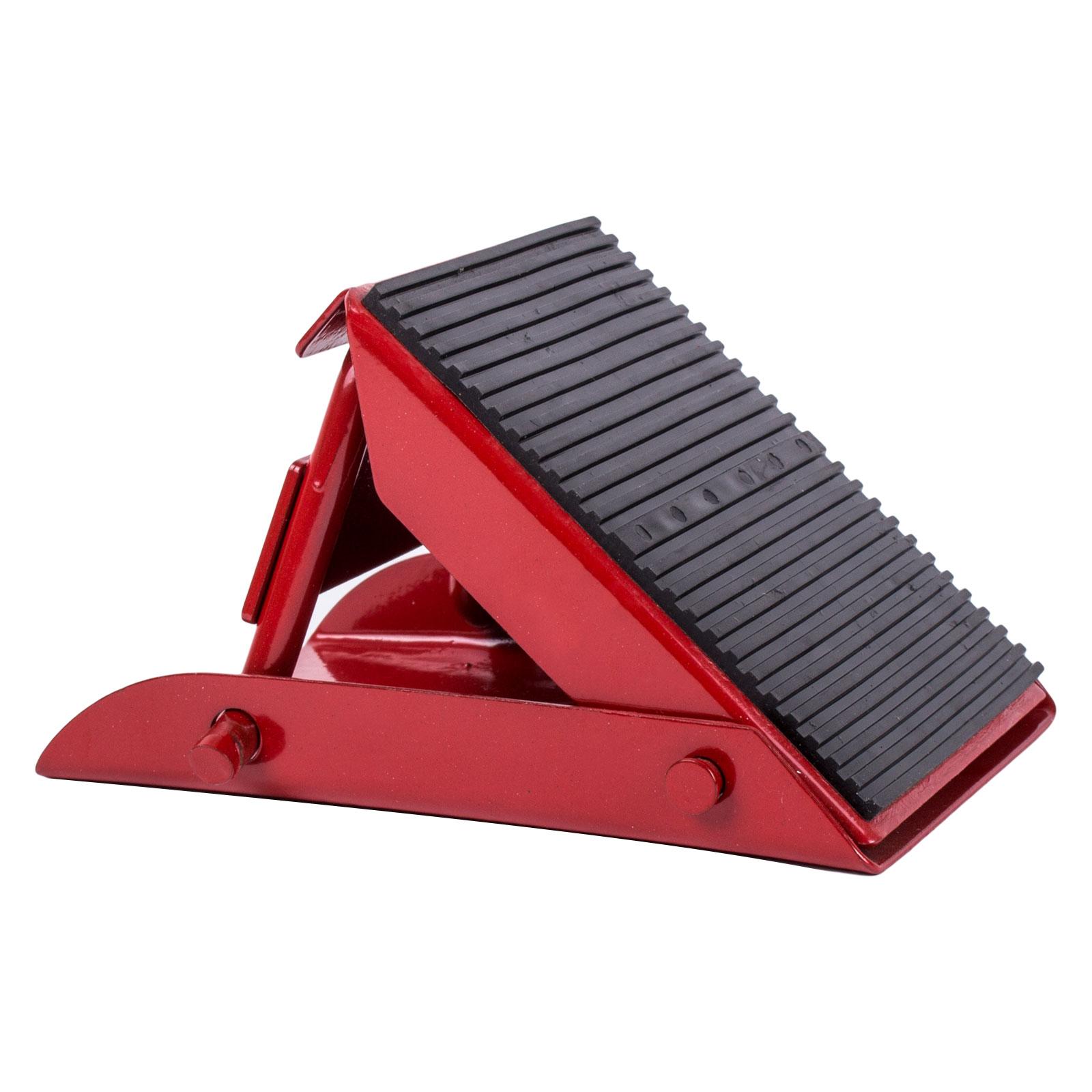 2er Set Mini Unterlegkeil klappbar 1000 Kg Rot