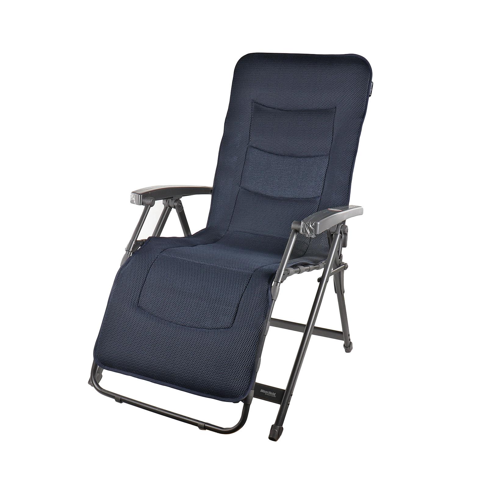 Westfield Lounge Sessel   Camping Stuhl   Liegestuhl   Aeronaut   Grau   140 Kg