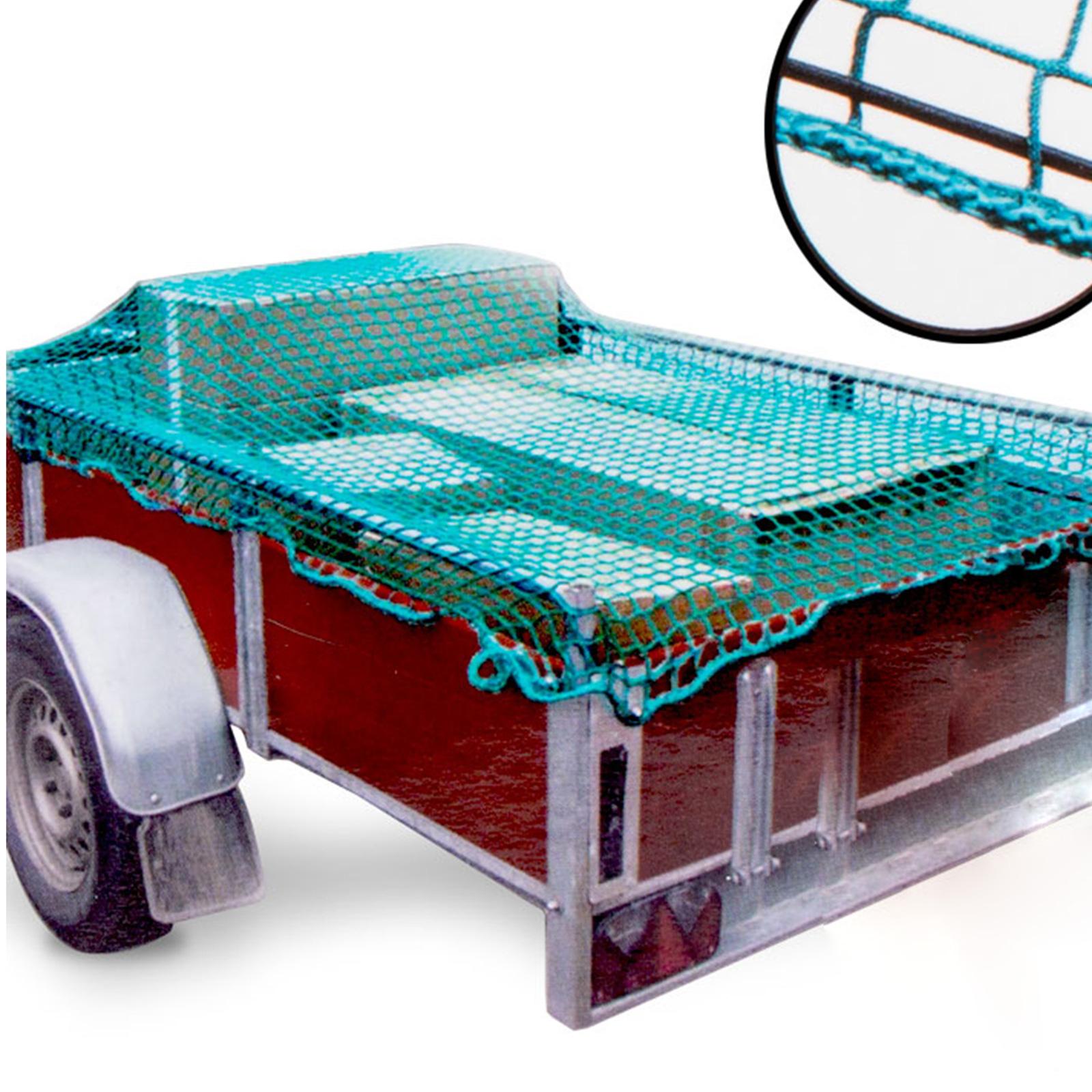 Anhänger Sicherheitsnetz mit Gummizug 1,50 x 2,20 Meter