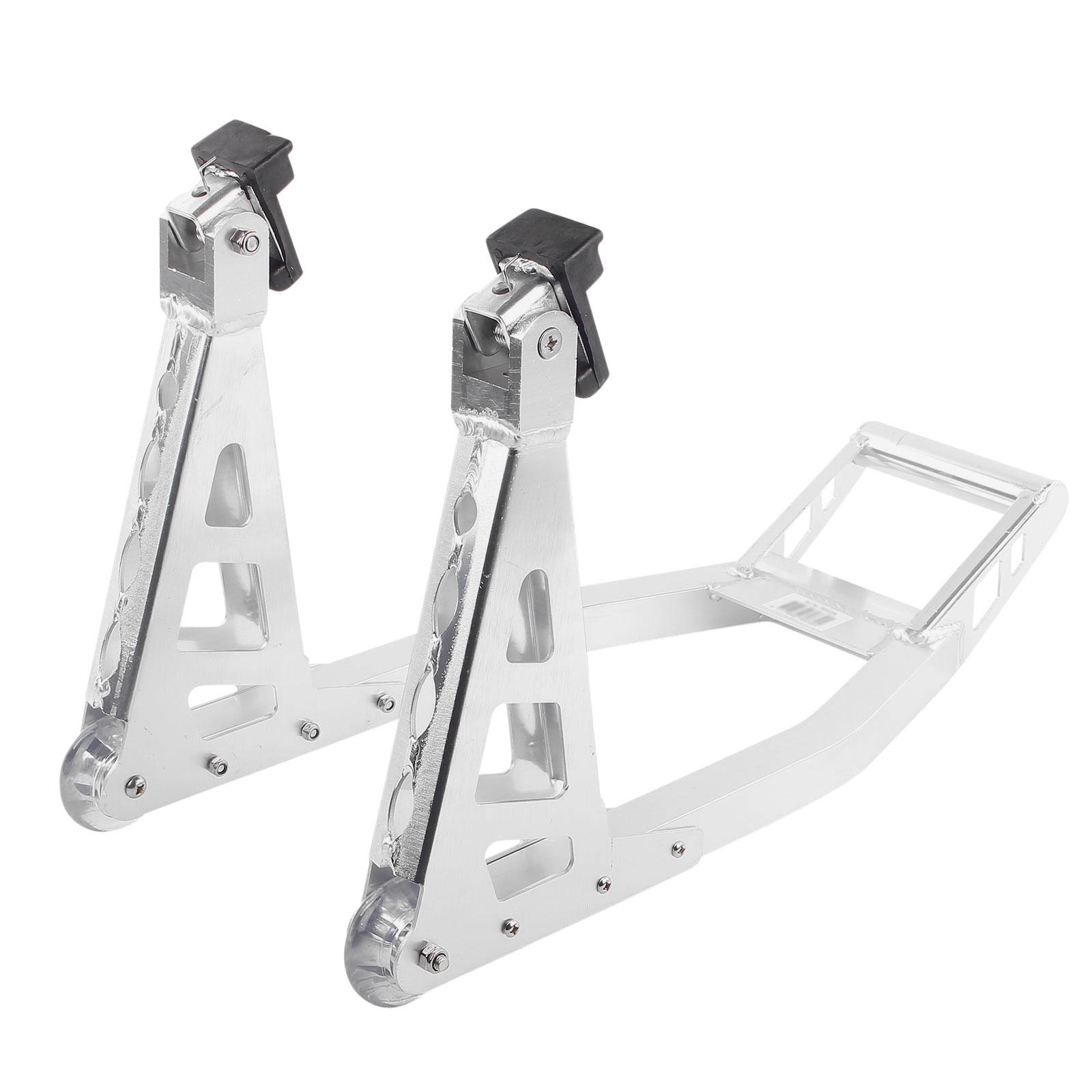 Motorrad Ständer Vorne Aluminium universell passend extra leicht Gabel 🏍️