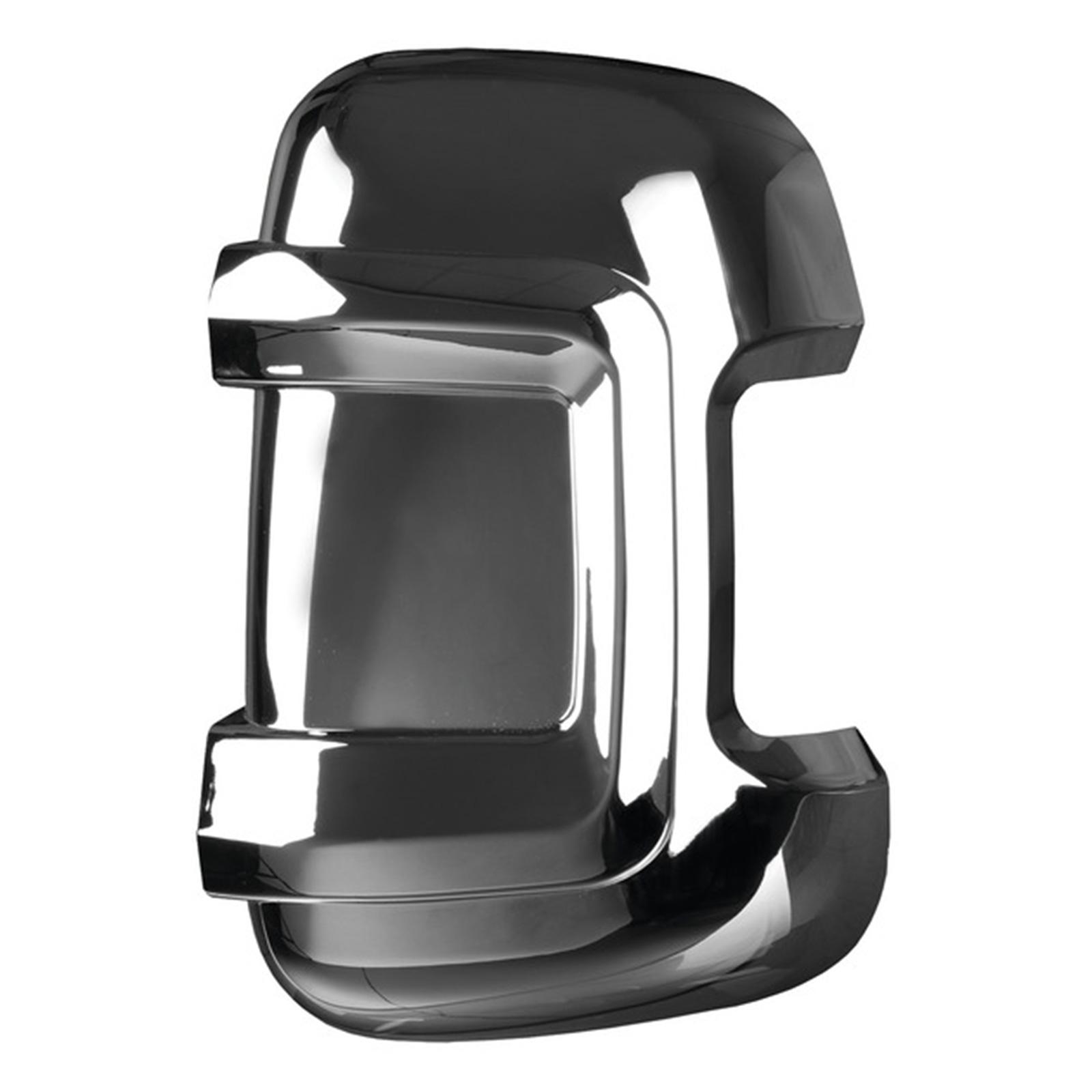 Carbest Spiegelprotektoren-Set hochglanz chrom/kurze Version Ducato Jumper