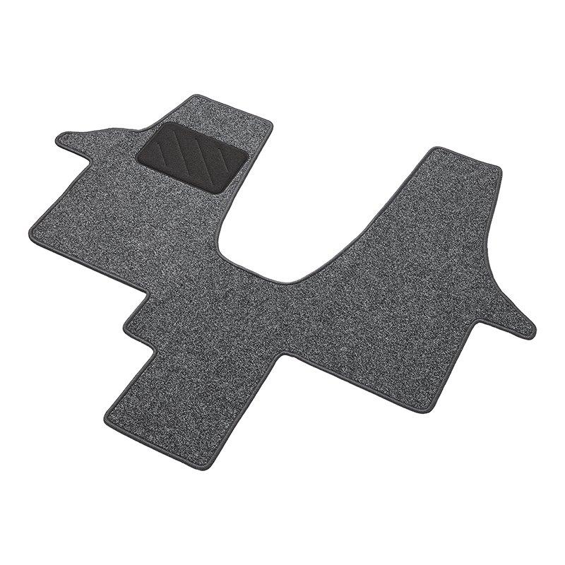 Fußmatte passend für VW T5 | Nadelfilz | anti Rutsch| Matte Teppich