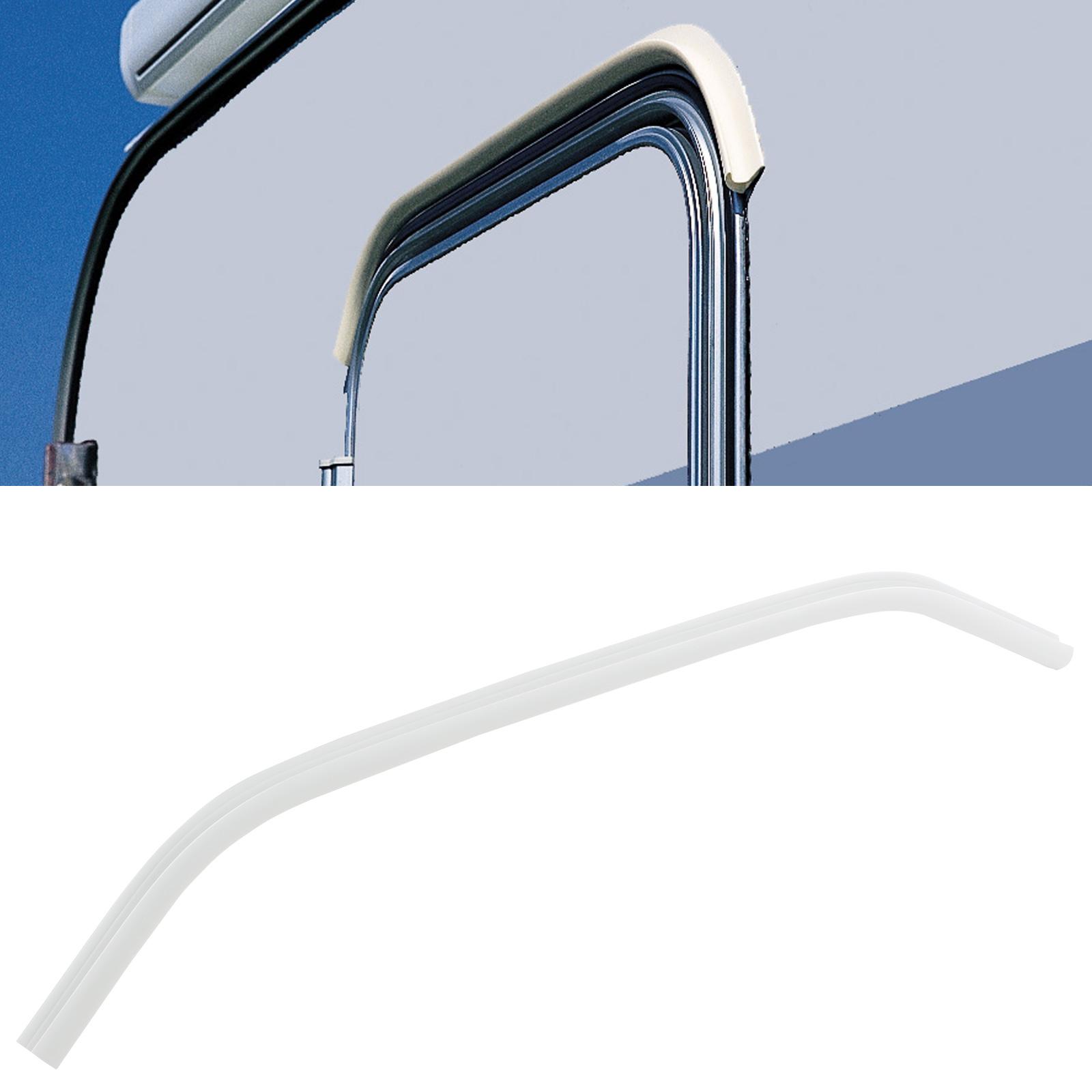Mini Regenrinne Drip Stop Fiamma, Polyvinylchlorid, 75 cm, weiß