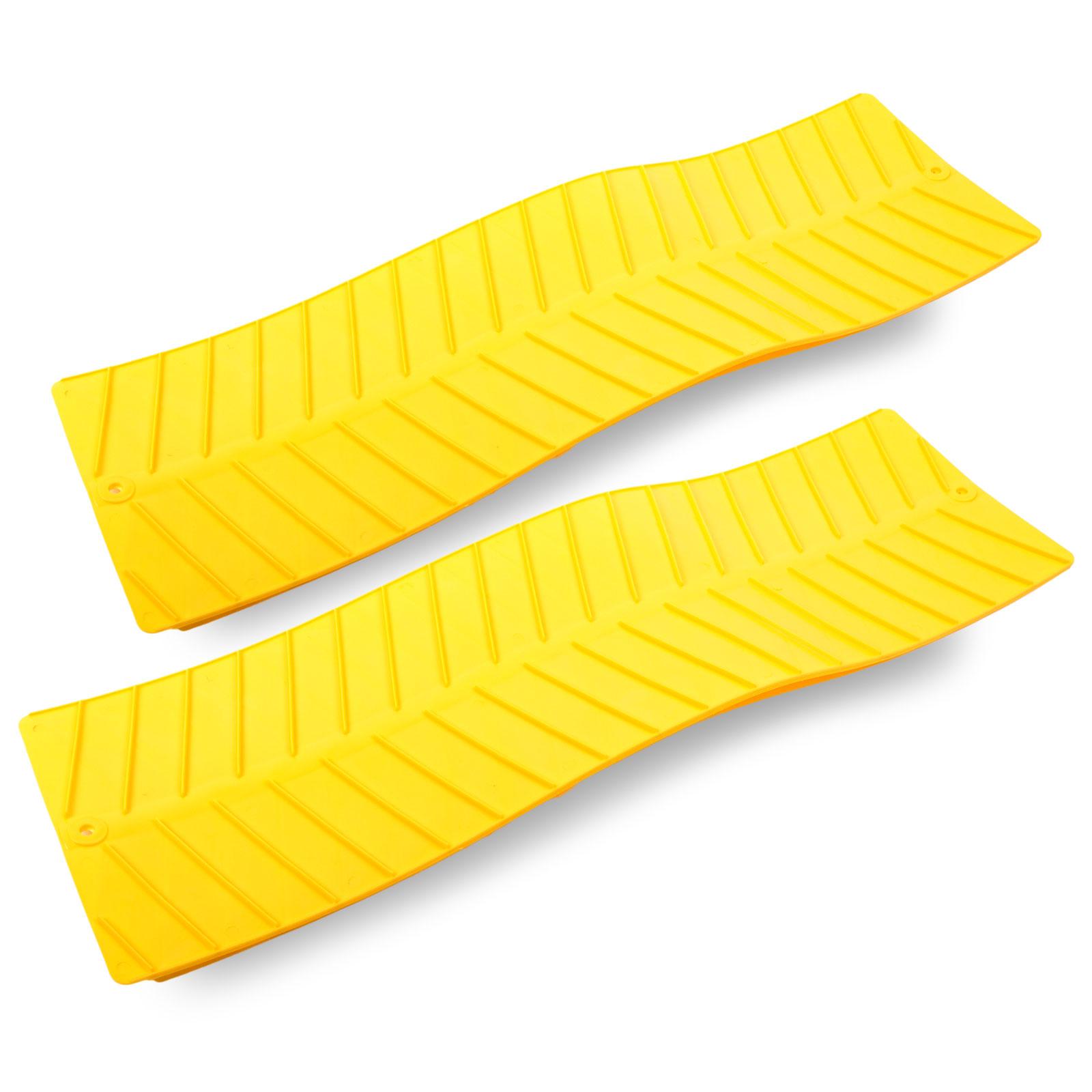 Gripmatte, Anfahrhilfe Set 2 Stück, gelb, 740x225 mm