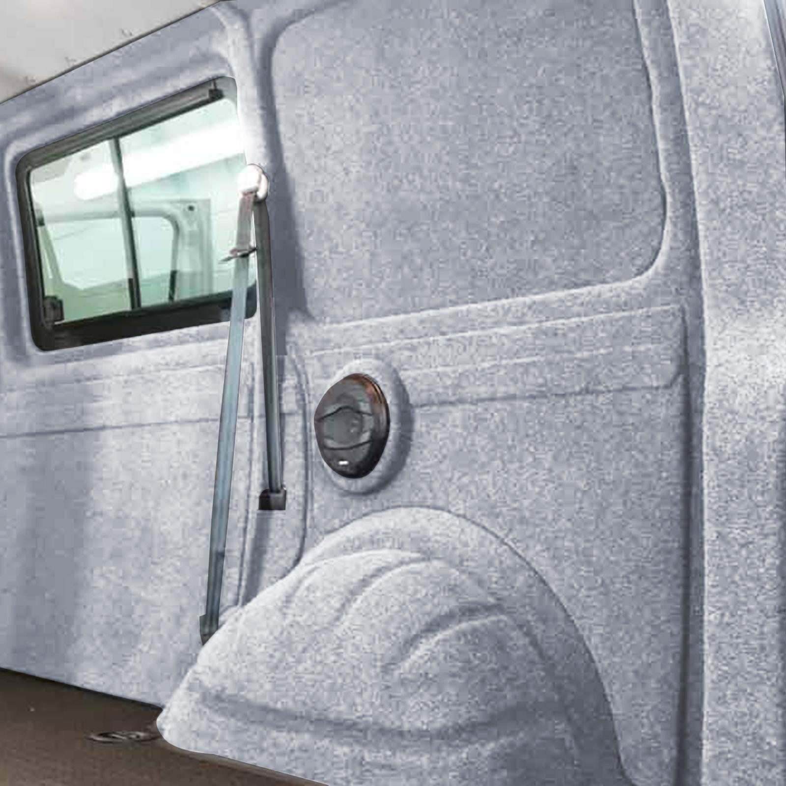 X-Trem Stretch-Carpet-Filz Silber (10x2m)