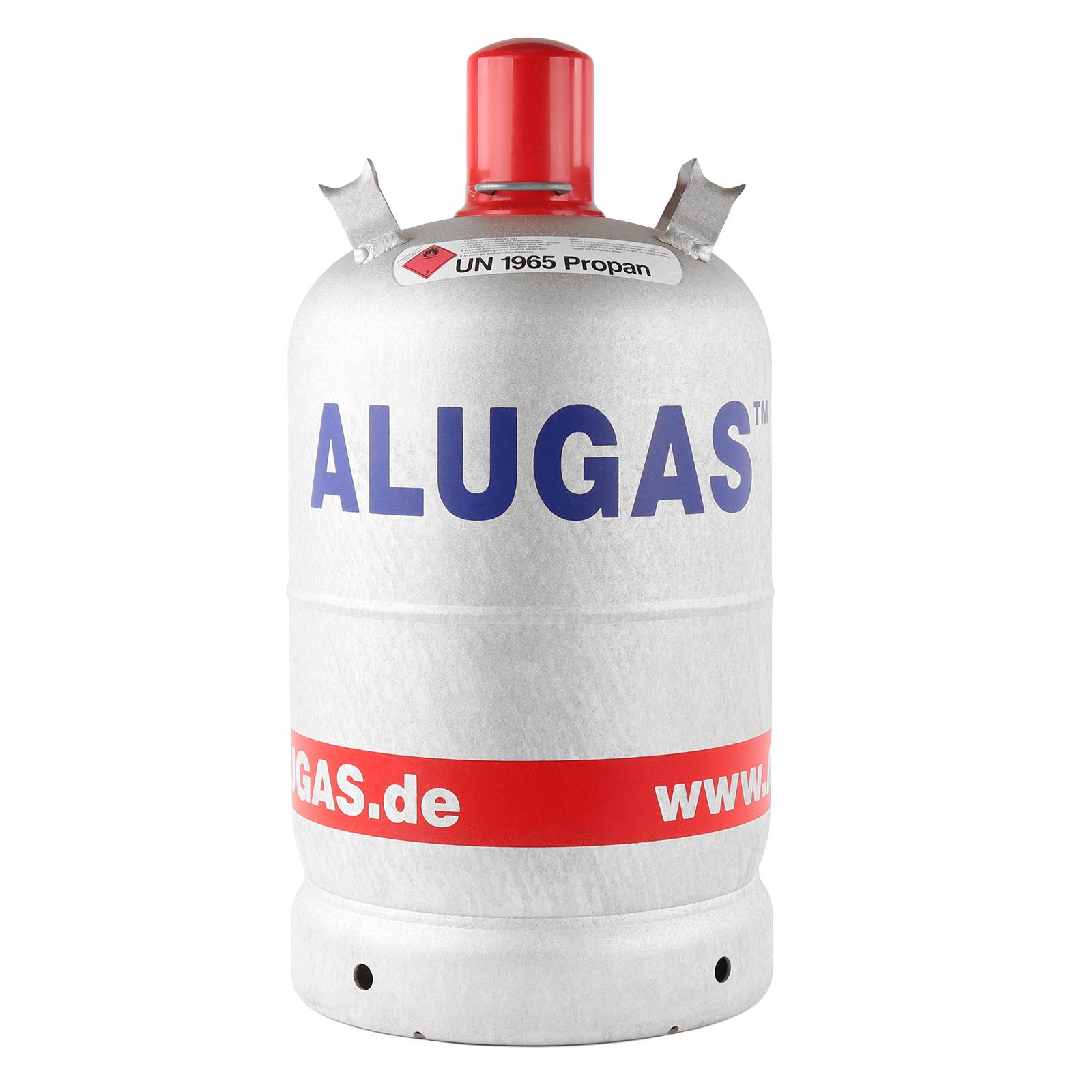 AluGas 11 Kg Propangas, Gasflasche für Camping NEU leer