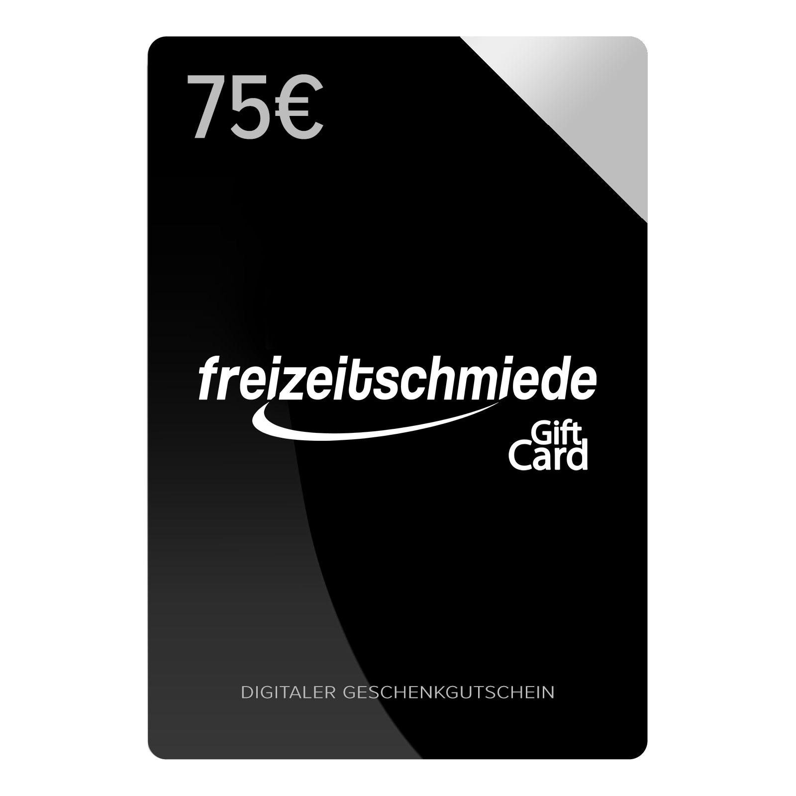 Digitaler Geschenkgutschein im Wert von 75 EUR