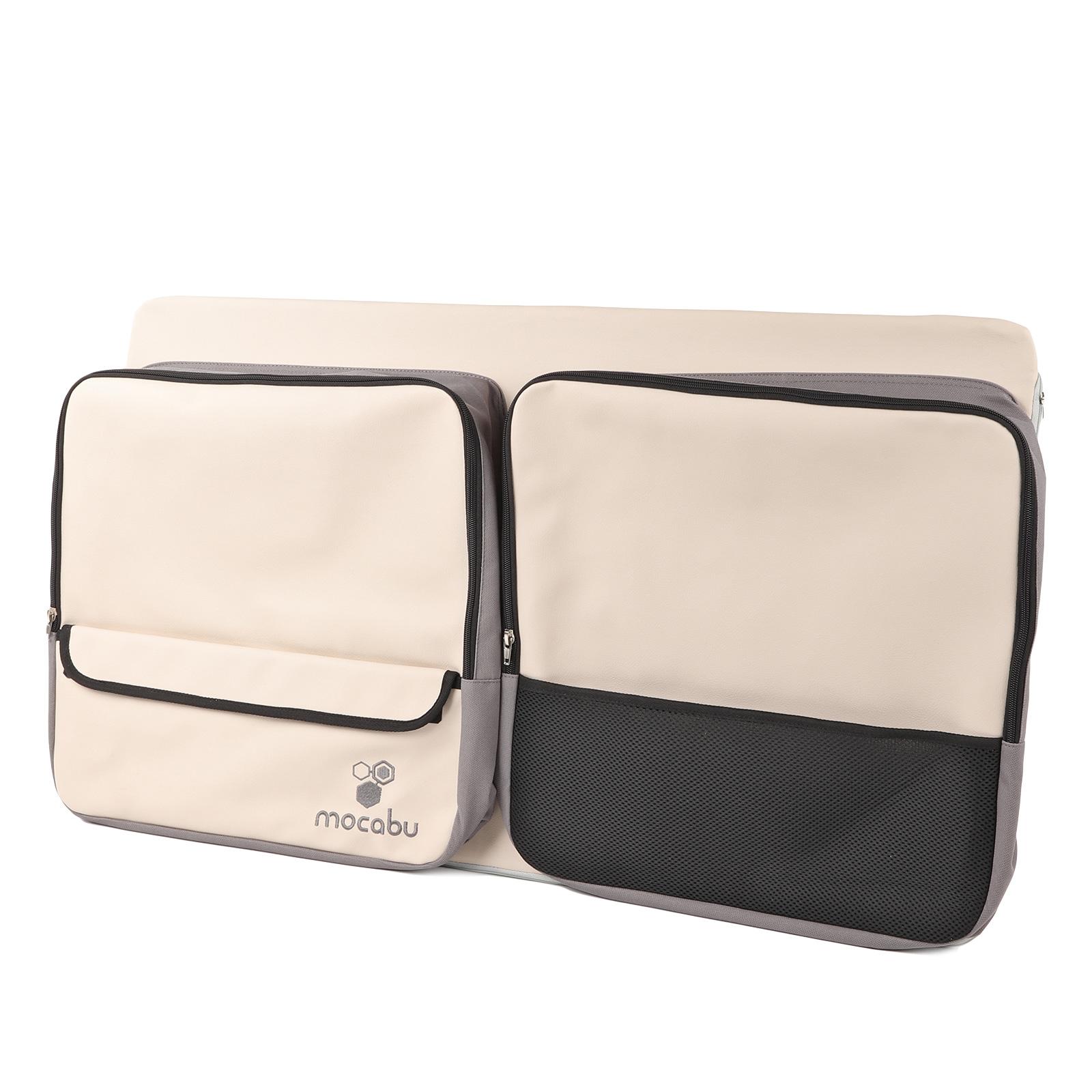 Fenstertasche Utensilientasche Leinenbeige passend für VW T5 T6 KR links