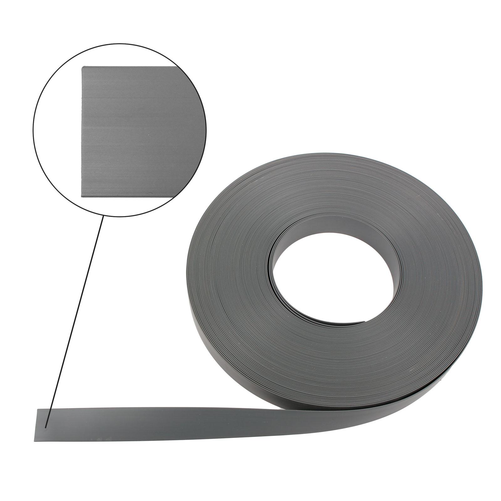 10 Meter Abdeckband 23mm, grau, Kunststoff, Fensterband