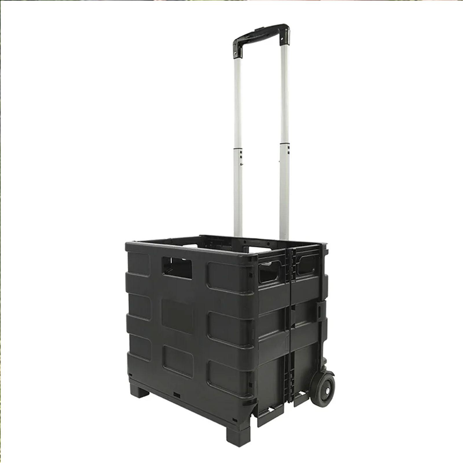 Transportwagen für Gasflaschen faltbar Einkaufskorb belastbar bis 25 kg
