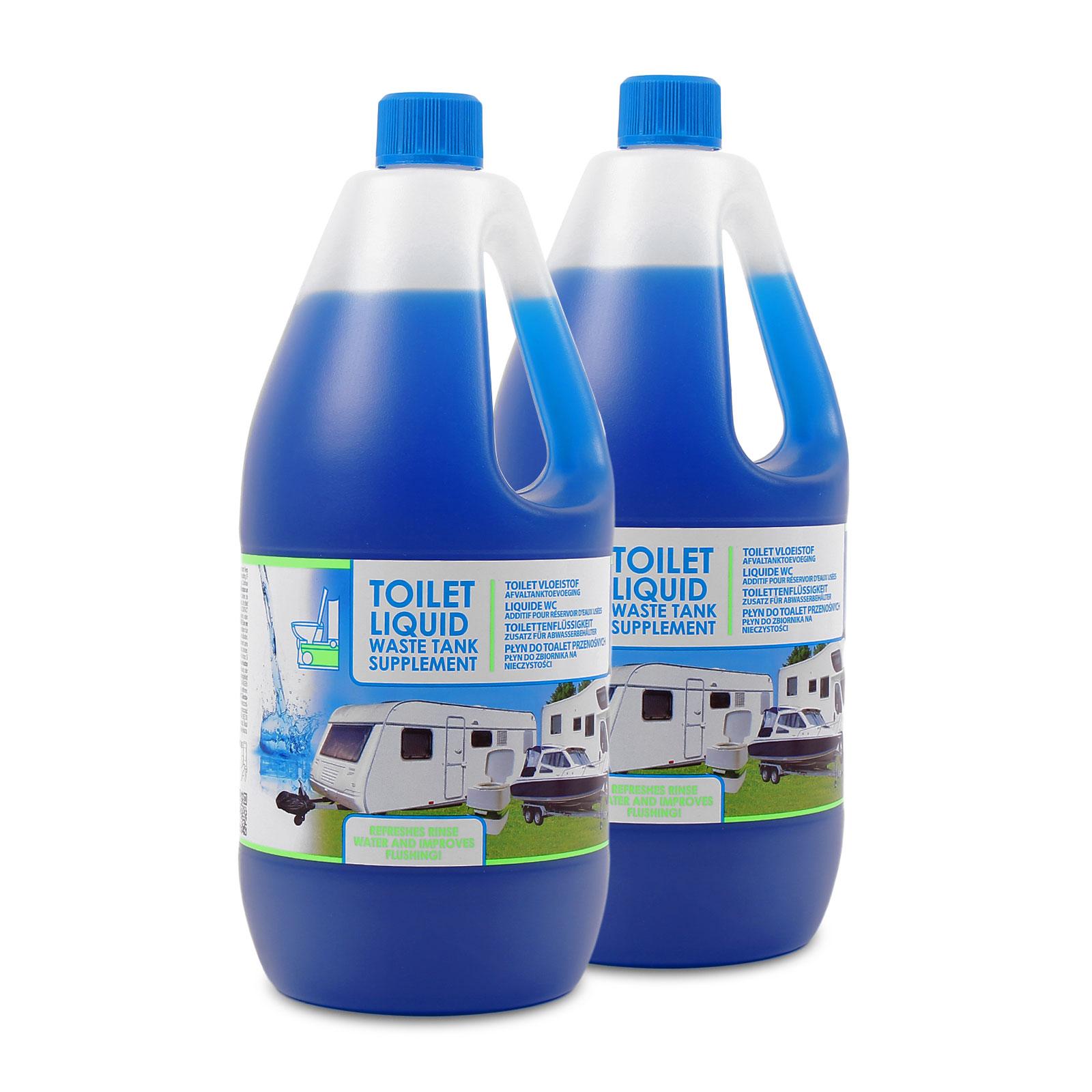 Sanitärflüssigkeit 4 Liter für Camping Toiletten, Abwasser, keimtötend