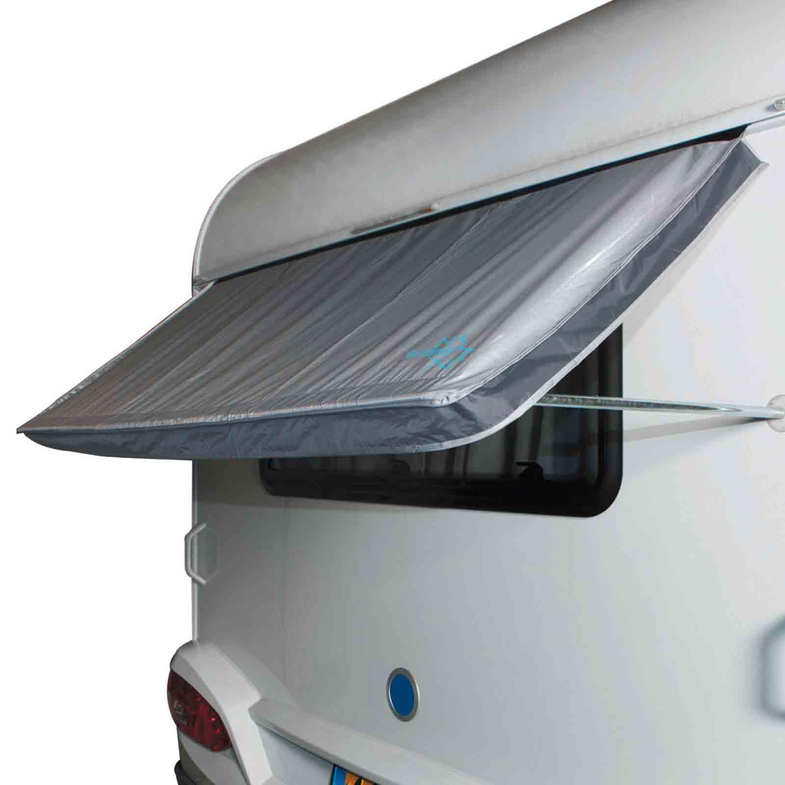 Wohnwagen Fenstermarkise, 180x75cm, 2000mm Wassersäule, Stahl verzinkt