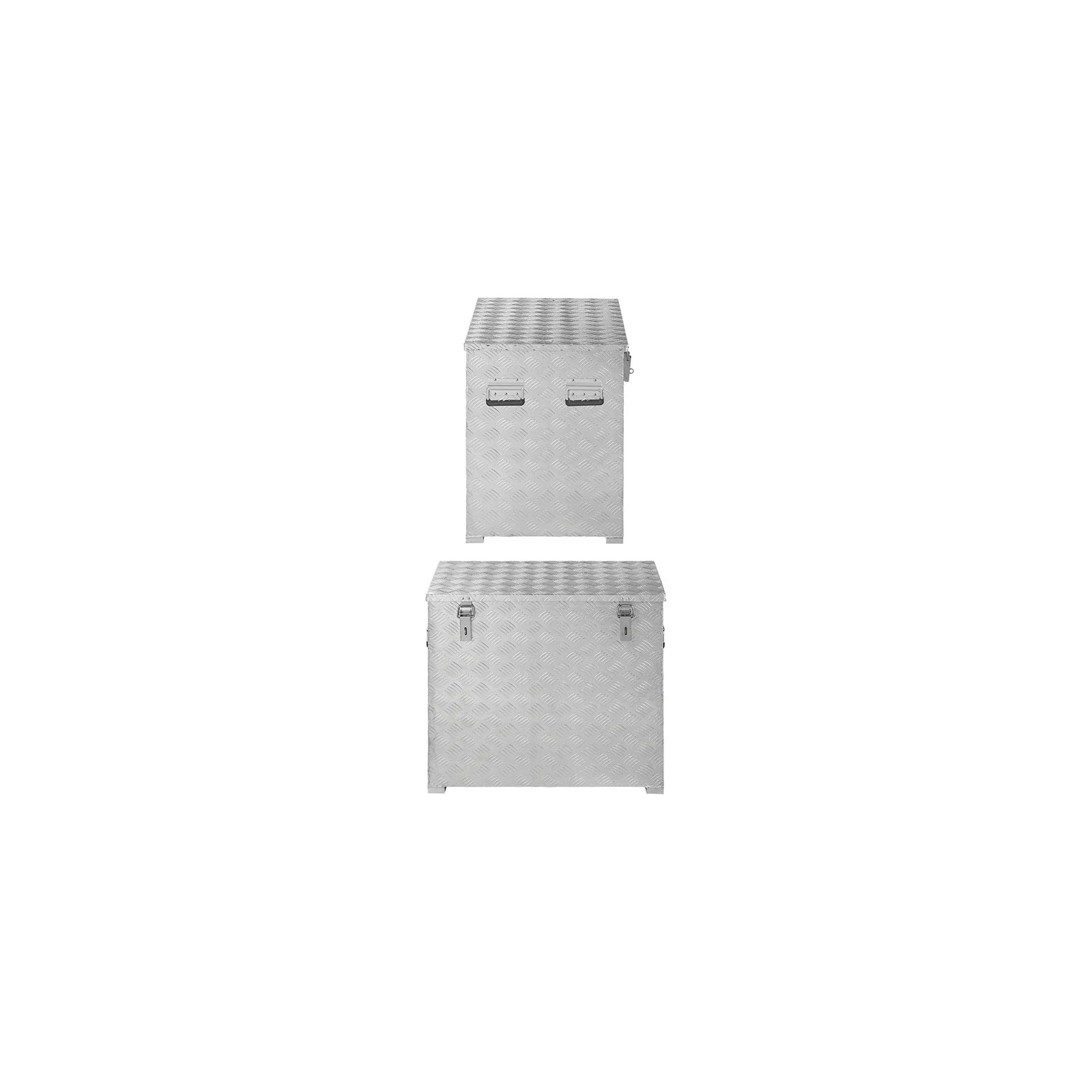 Aufbewahrungsbox Aluminium 772 x 525 x H645 mm