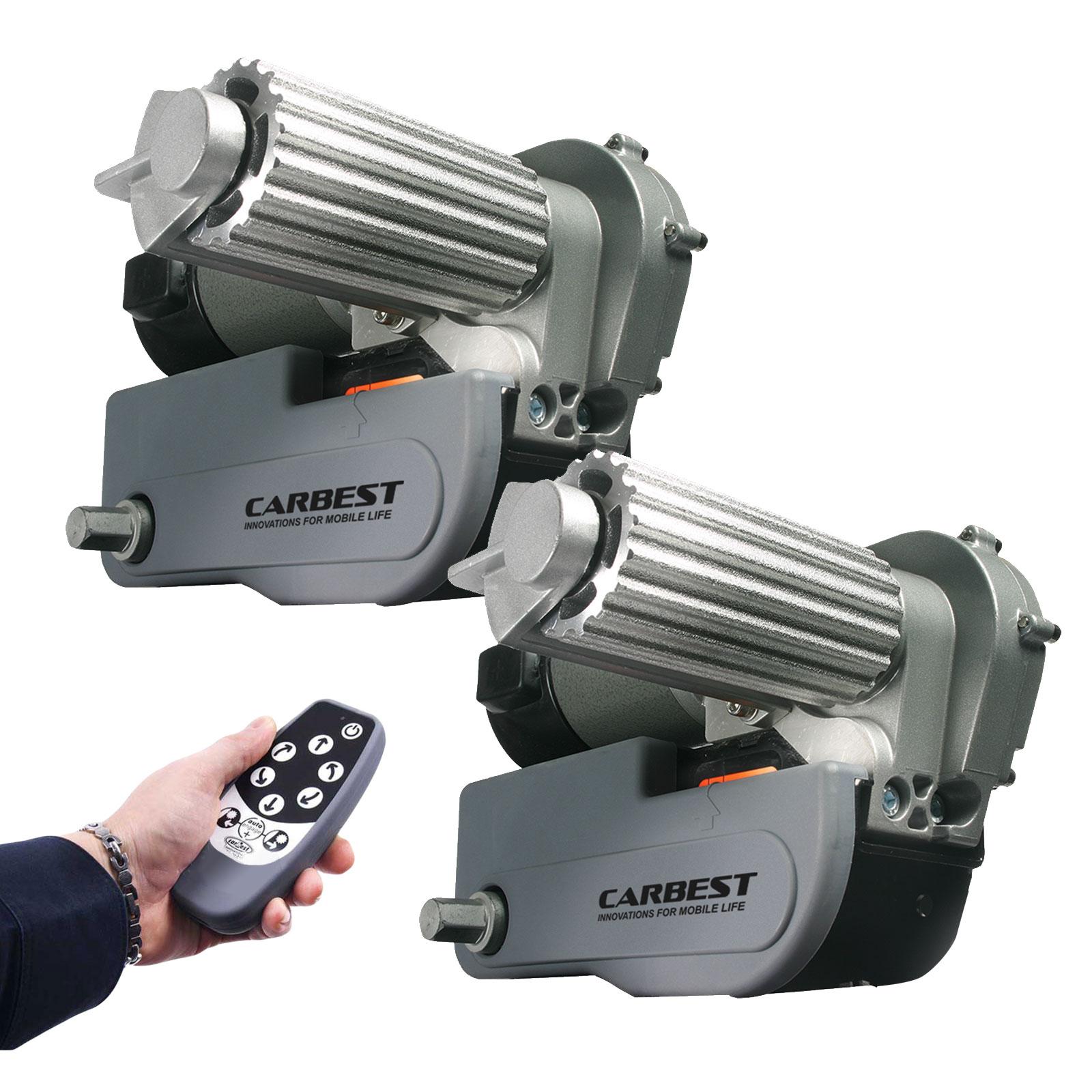 Carbest Cara-Move automatische Rangierhilfe 2250 Kg 1 & 2 Achser Fernbedienung