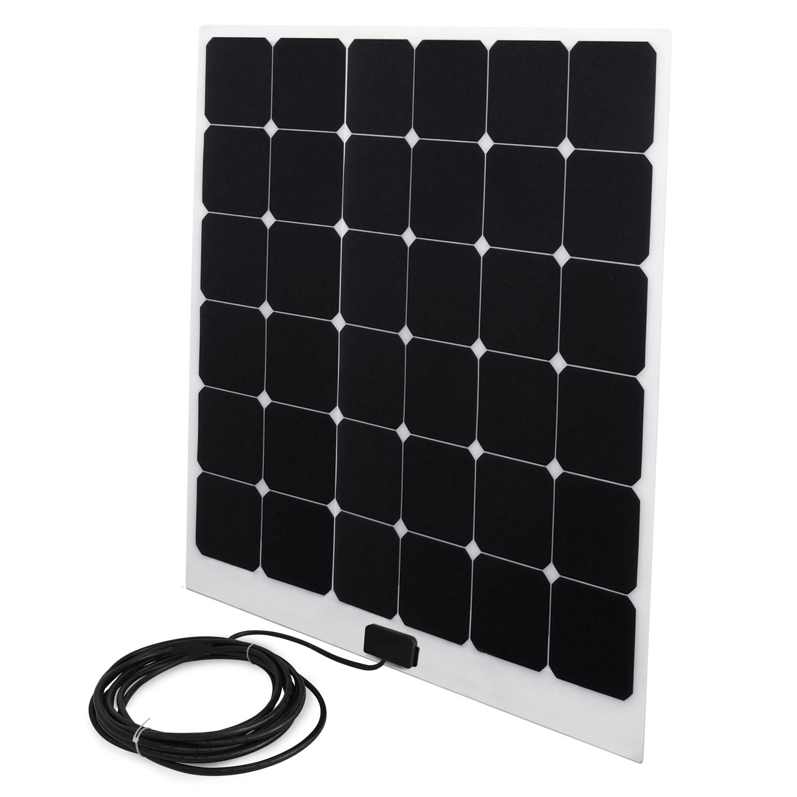 Solarpanel 100 Watt 92x80 cm 3mm dünn 20,8V Ladespannung