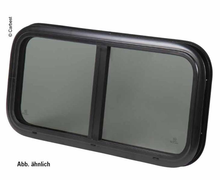 Fenster RW Motion Carbest Schiebefenster aus Echtglas  500 x 450